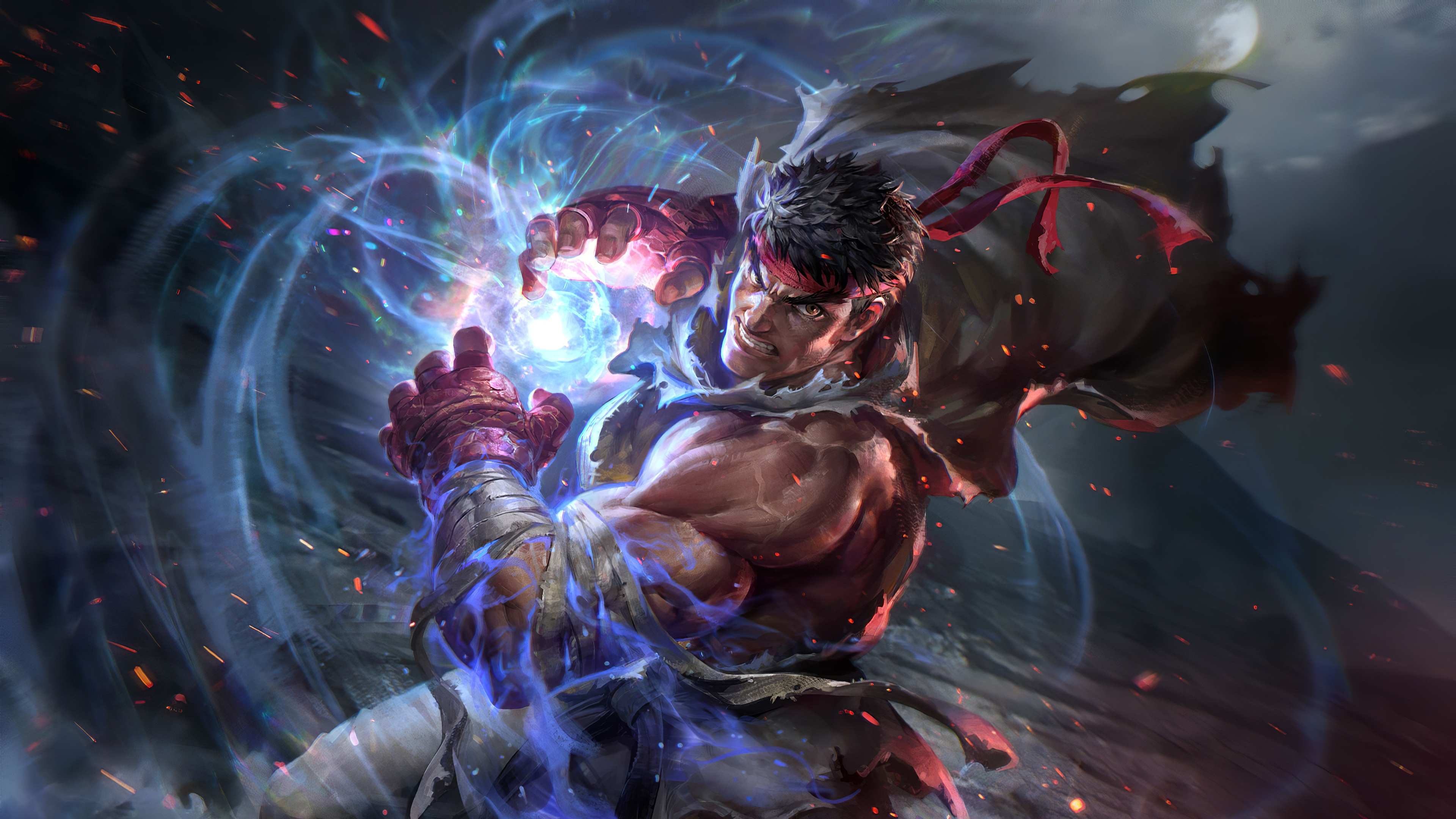 Ryu Street Fighter V 2020 4k Hd Games 4k Wallpapers Images