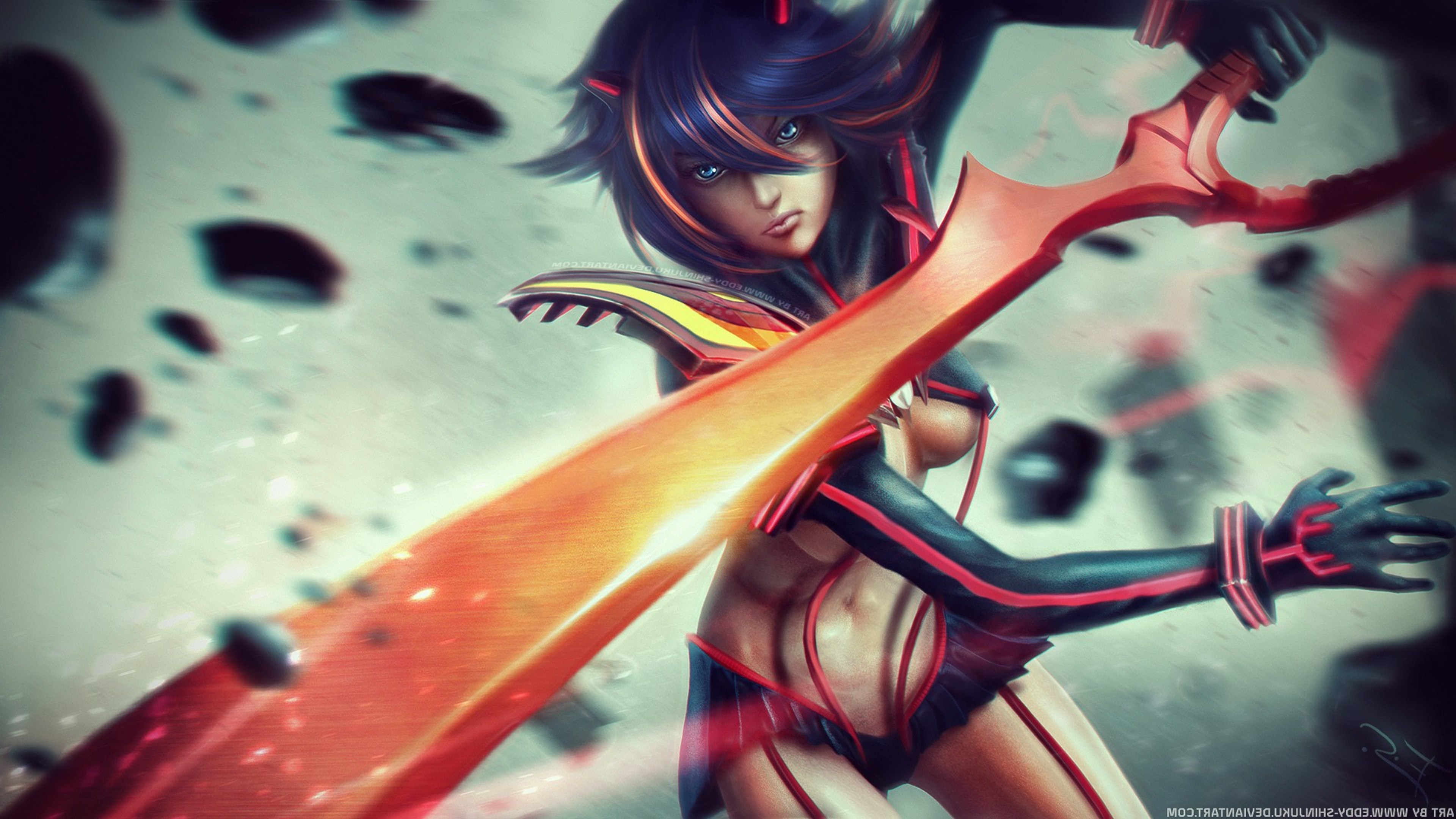 Ryuko Kill La Kill Hd Fantasy Girls 4k Wallpapers Images