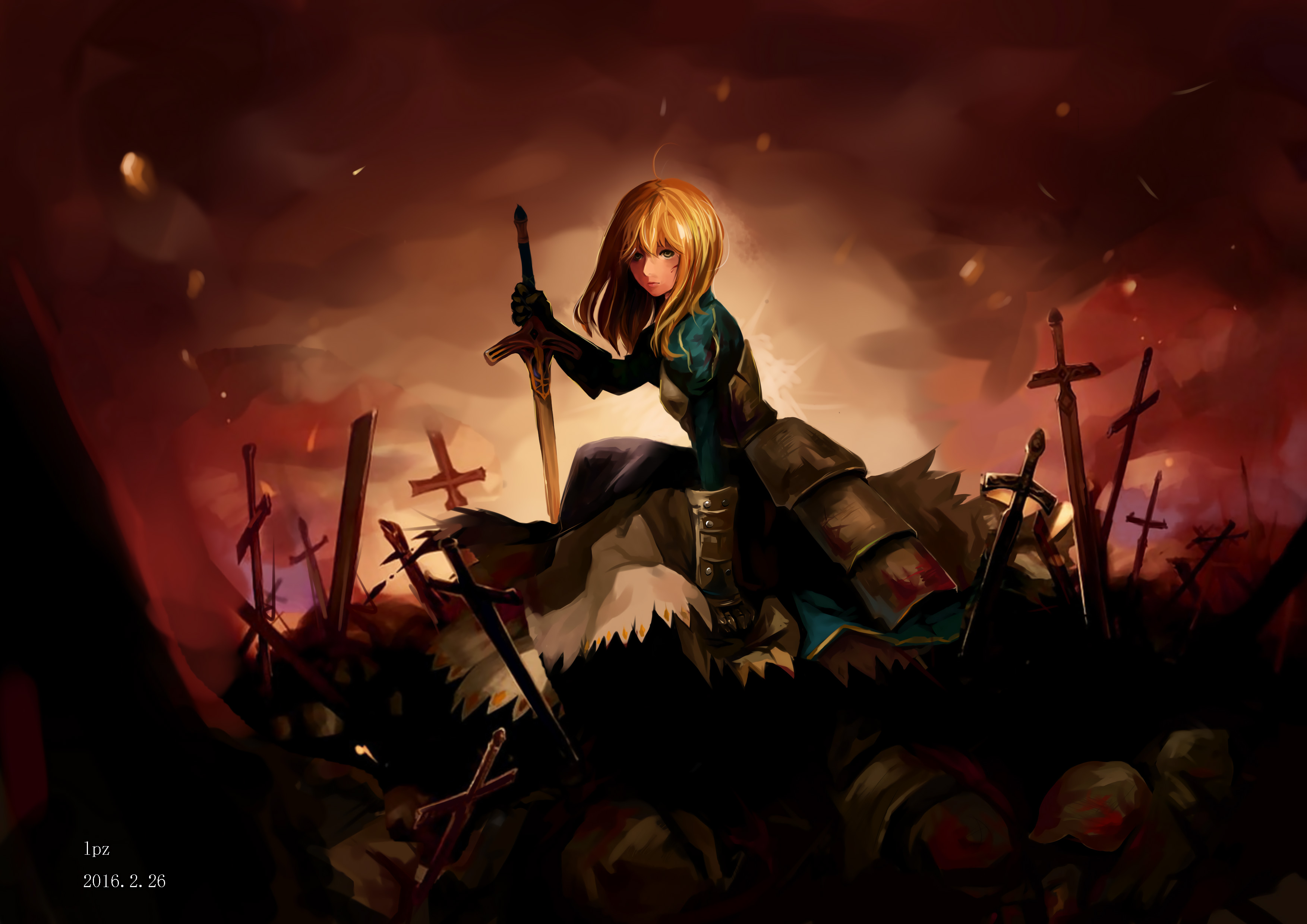Saber Fate Stay Night Hd Anime 4k Wallpapers Images