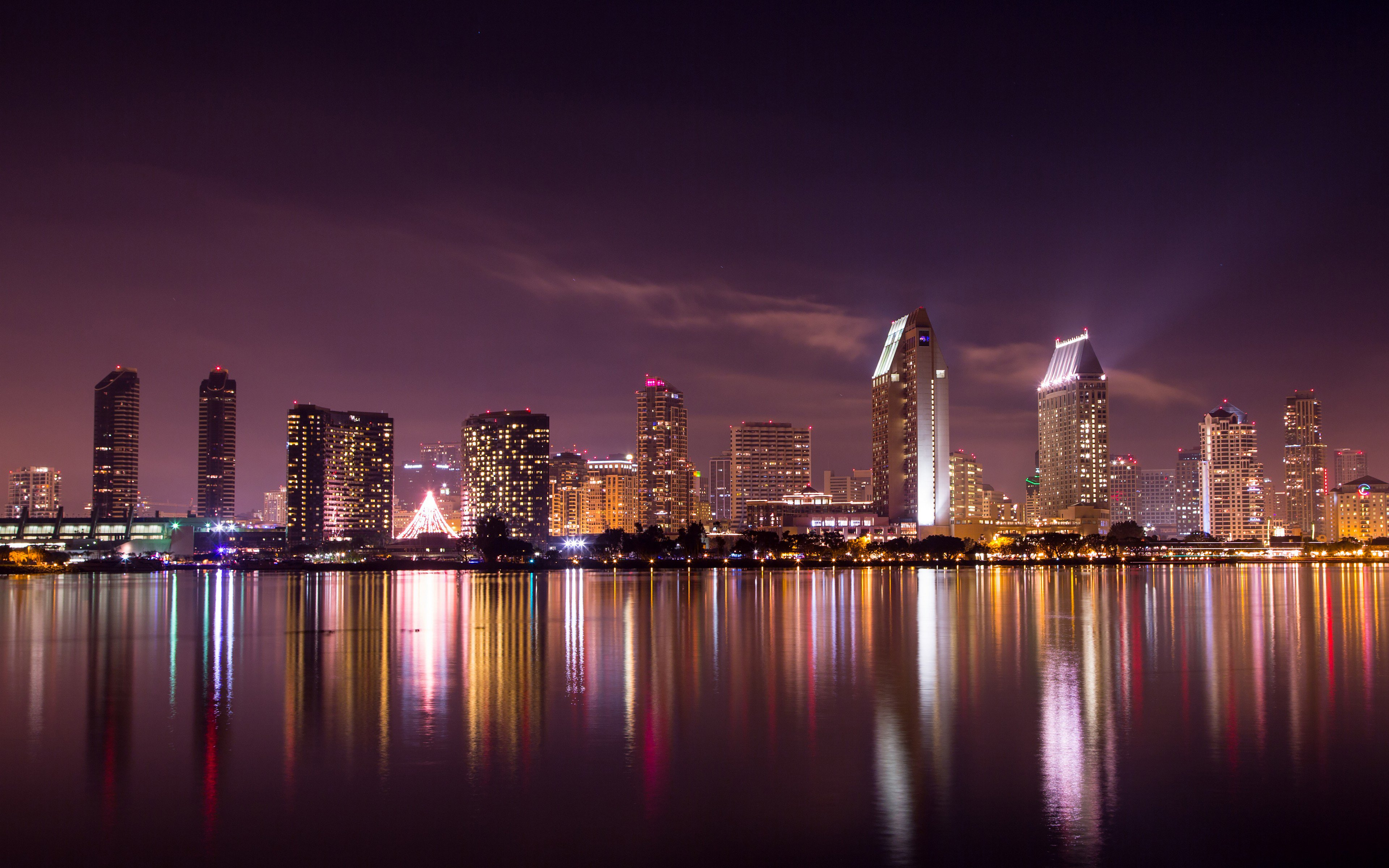 1440x900 San Diego Skyline 1440x900 Resolution Hd 4k Wallpapers Images Backgrounds Photos And Pictures
