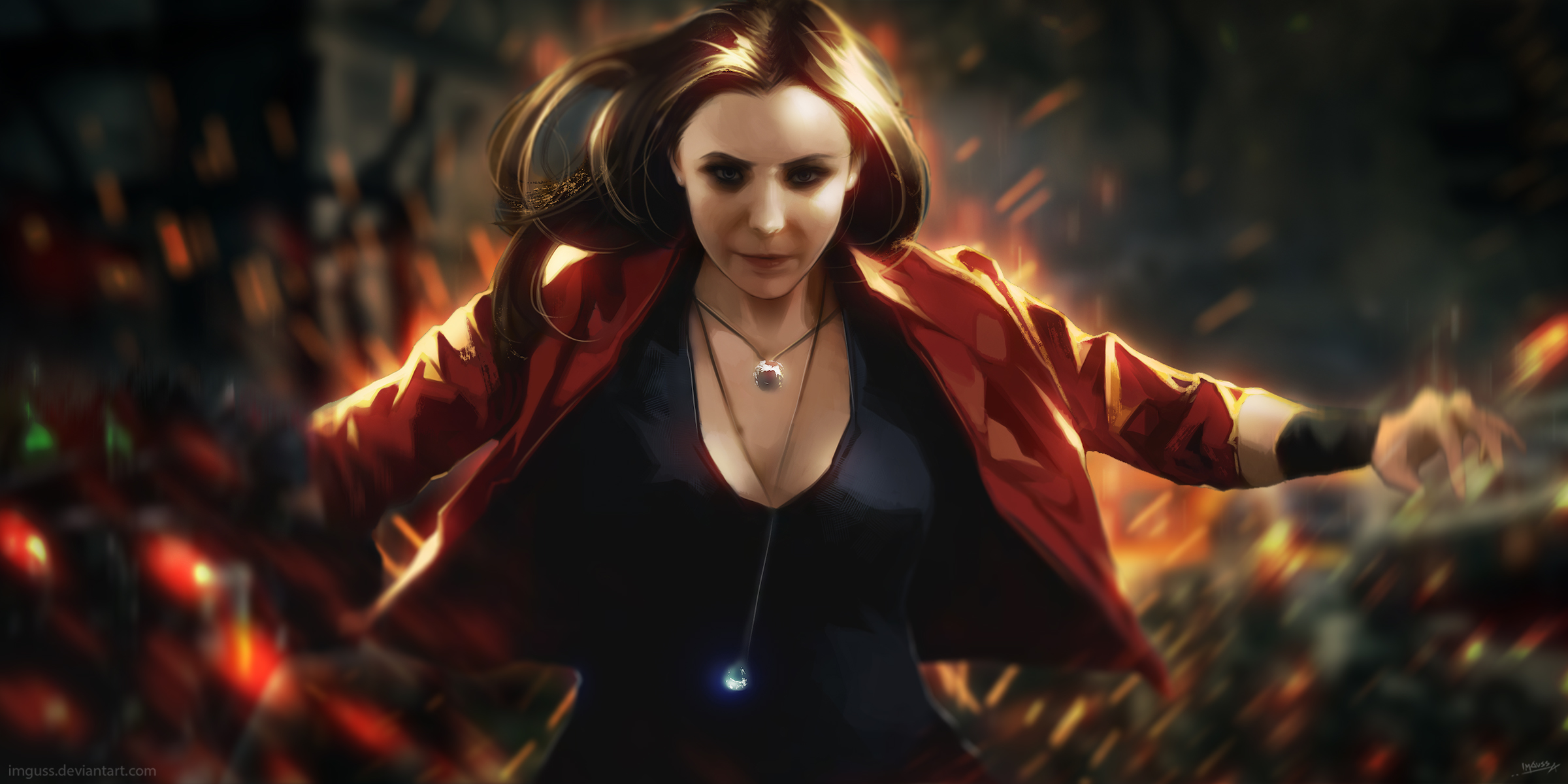 Scarlet Witch Artwork Hd Superheroes 4k Wallpapers Images Backgrounds Photos And Pictures