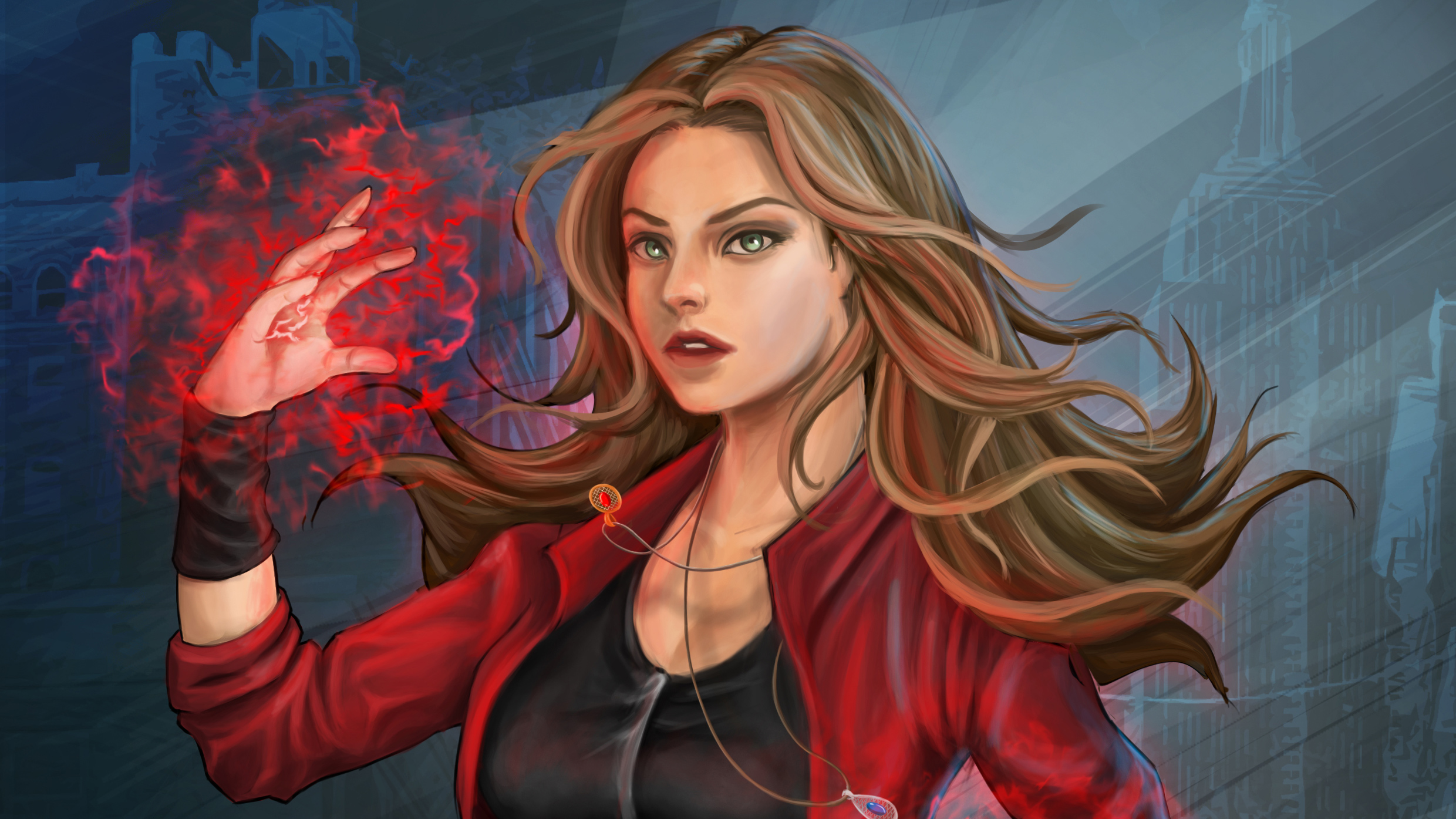 Scarlet Witch Artworks Hd Superheroes 4k Wallpapers Images Backgrounds Photos And Pictures