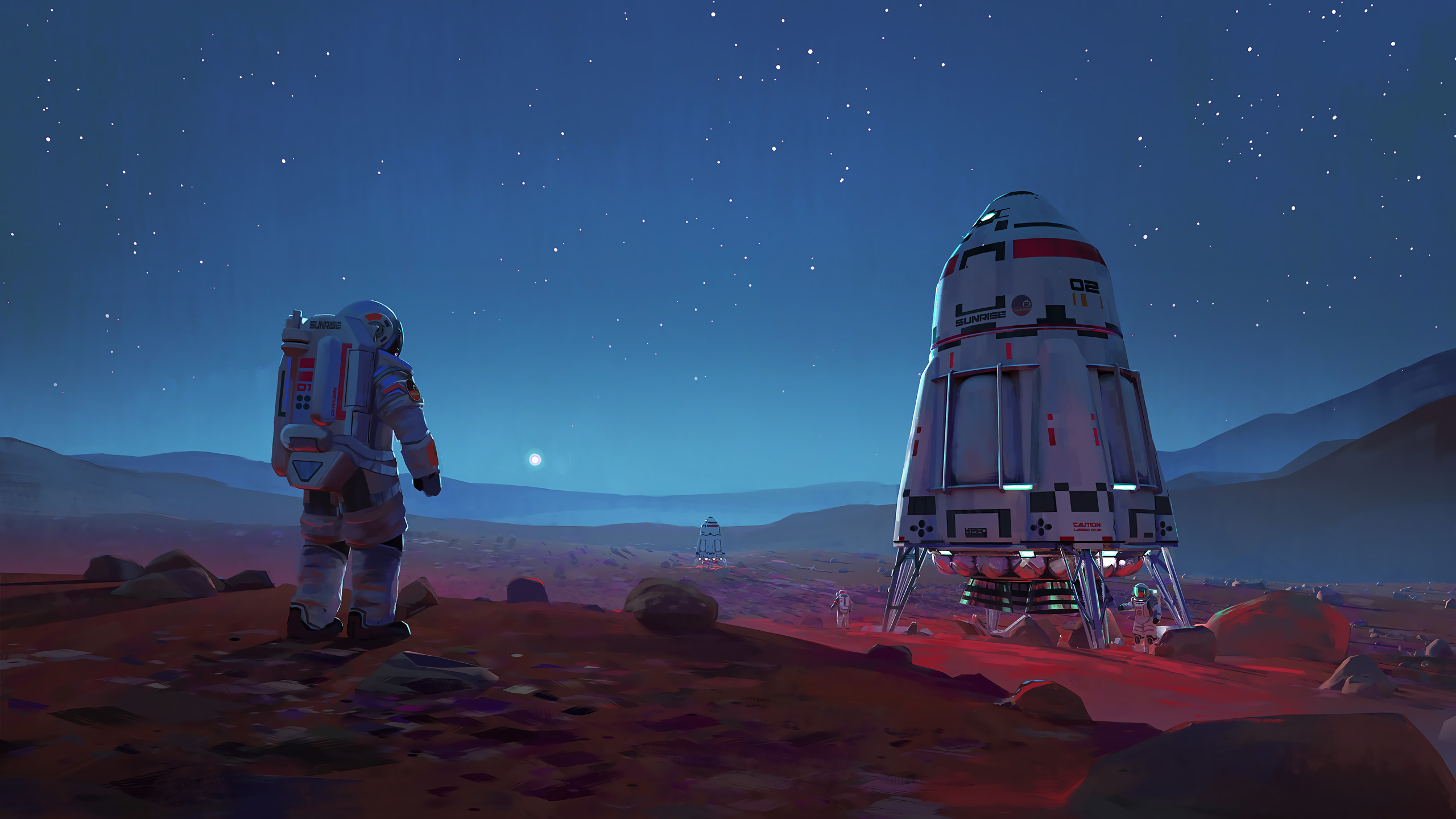 Scifi Astronaut Space Mars Hd Artist 4k Wallpapers Images Backgrounds Photos And Pictures