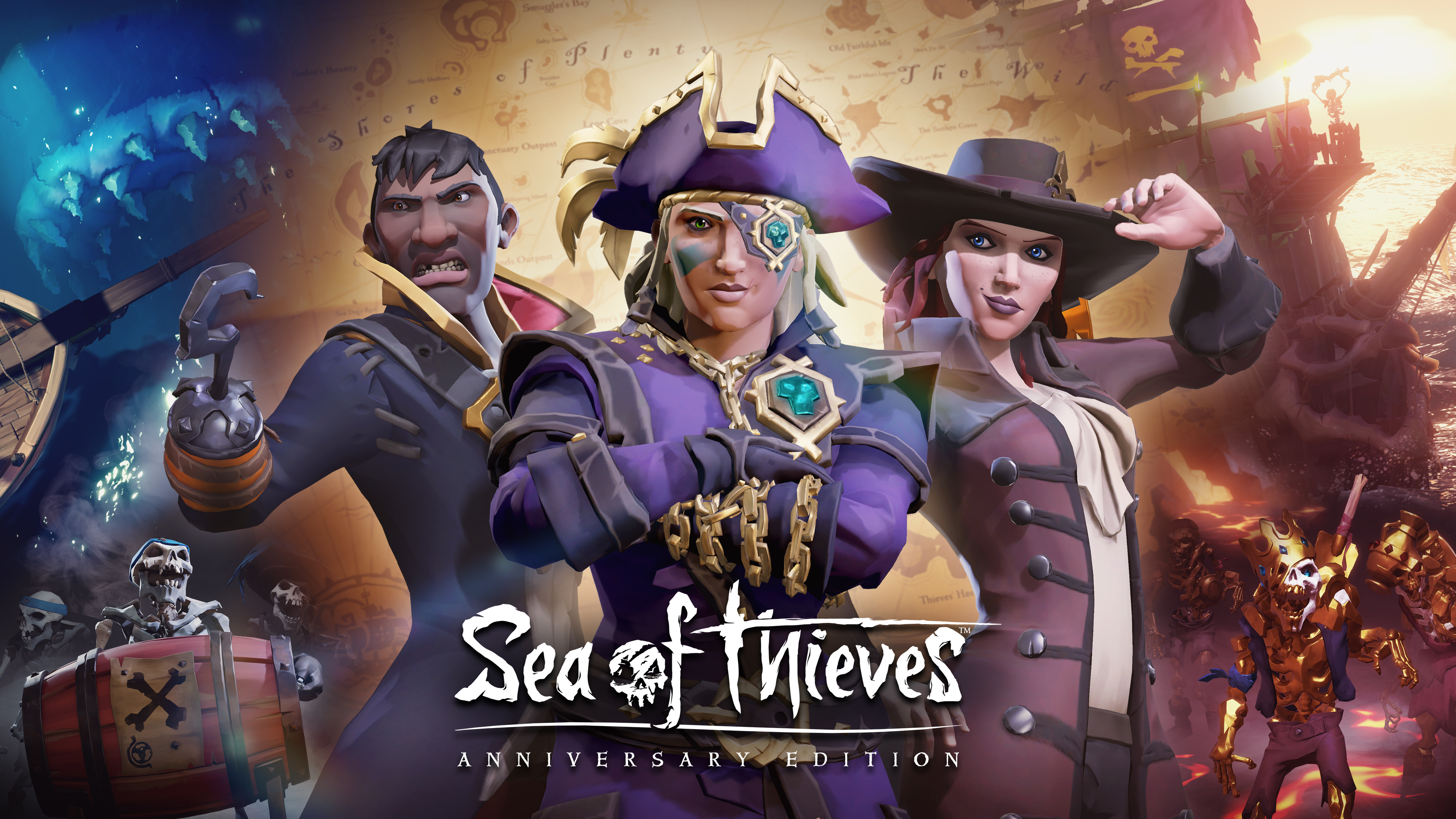 1920x1080 Sea Of Thieves First Anniversary Laptop Full Hd 1080p Hd