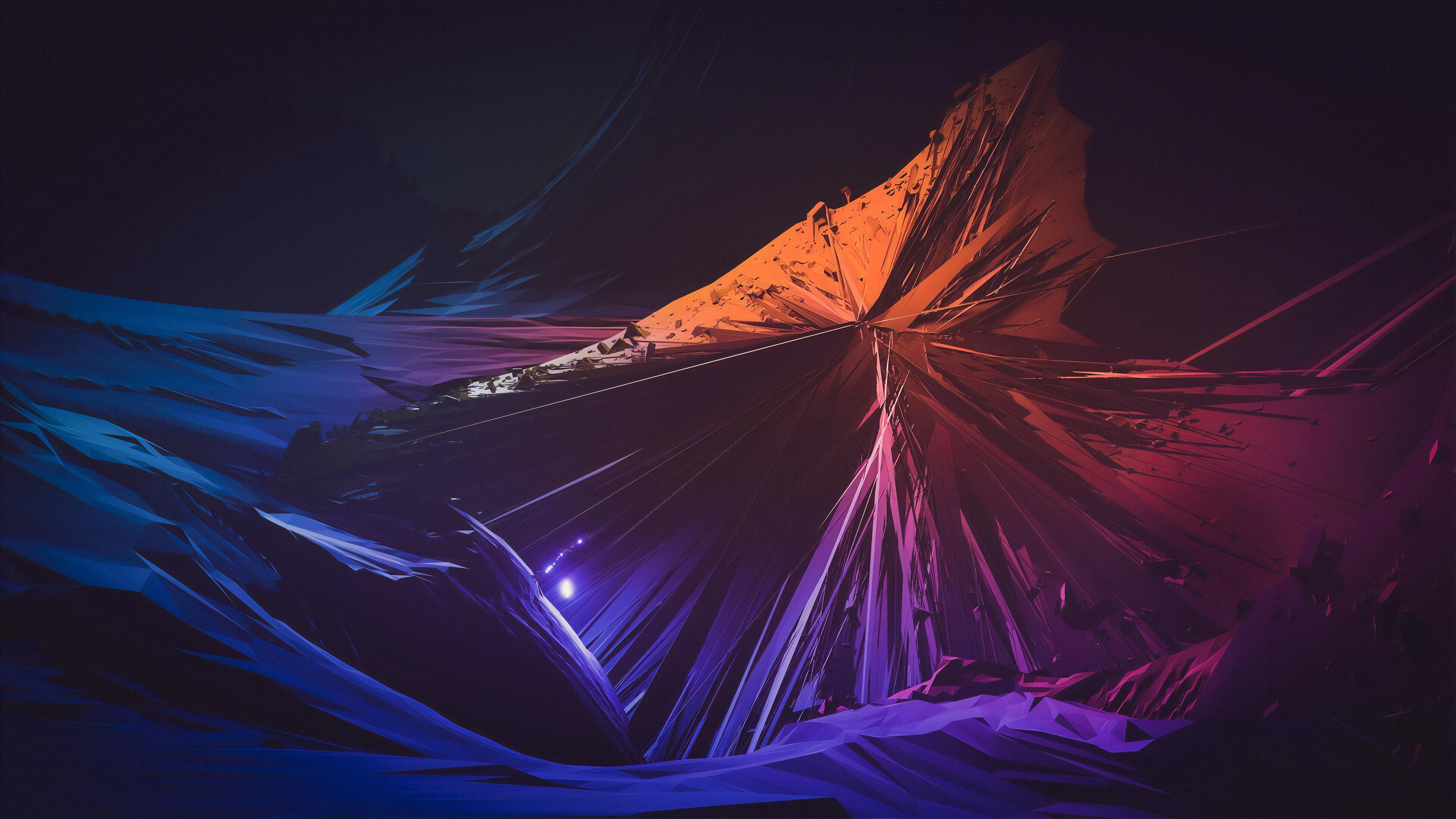 Sharp Shapes Abstract 4k, HD Abstract, 4k Wallpapers ...
