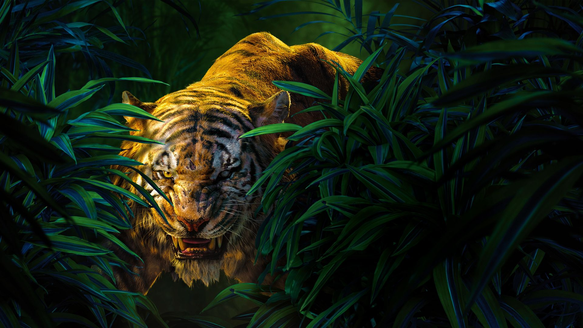 Shere Khan The Jungle Book Movie Hd Movies 4k Wallpapers Images Backgrounds Photos And Pictures