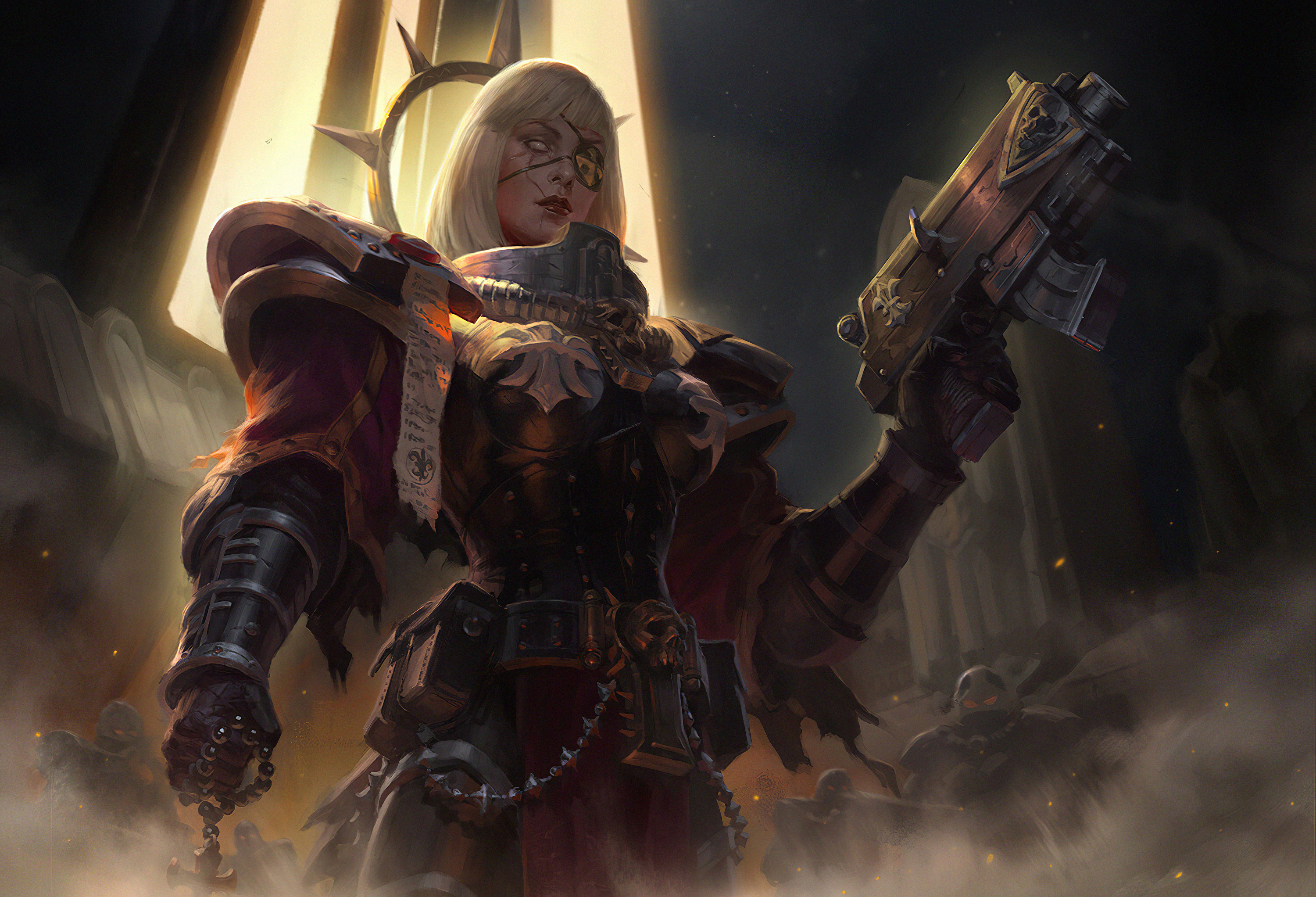 Sister Of Battle Hd Artist 4k Wallpapers Images Backgrounds Photos And Pictures