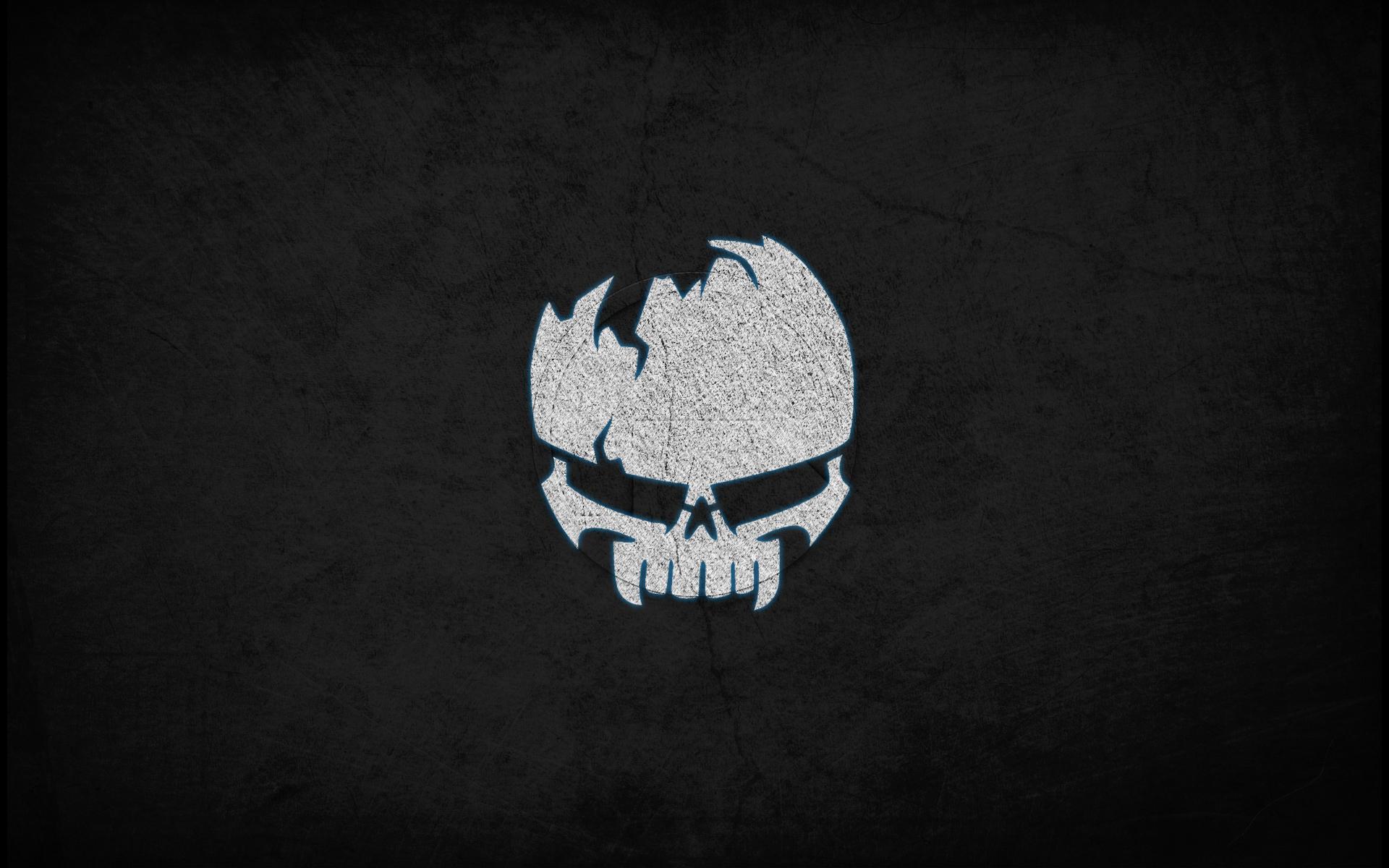 skull dark gaming image