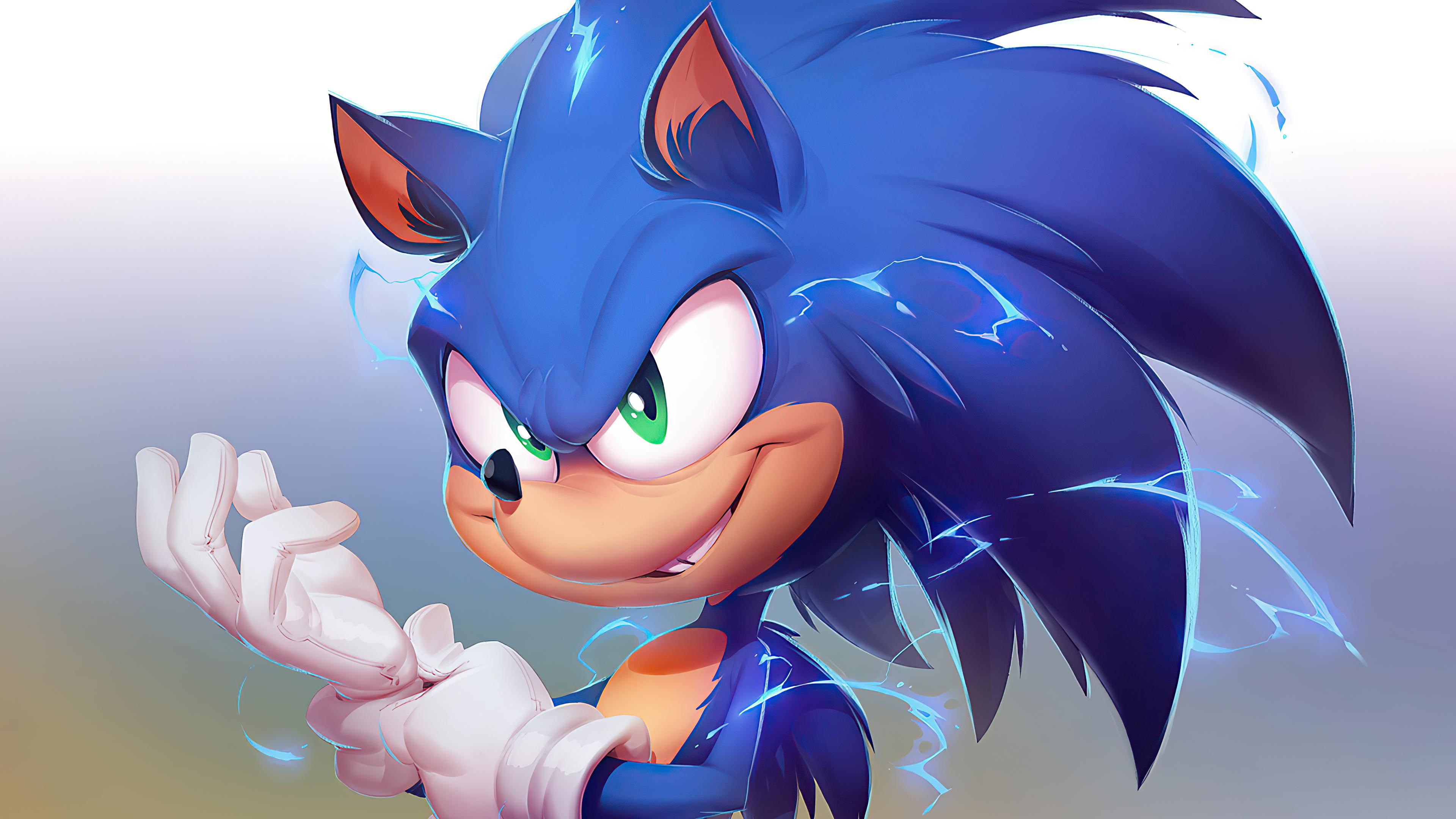 Sonic The Hedgehog 2020 4k Artwork Hd Movies 4k Wallpapers