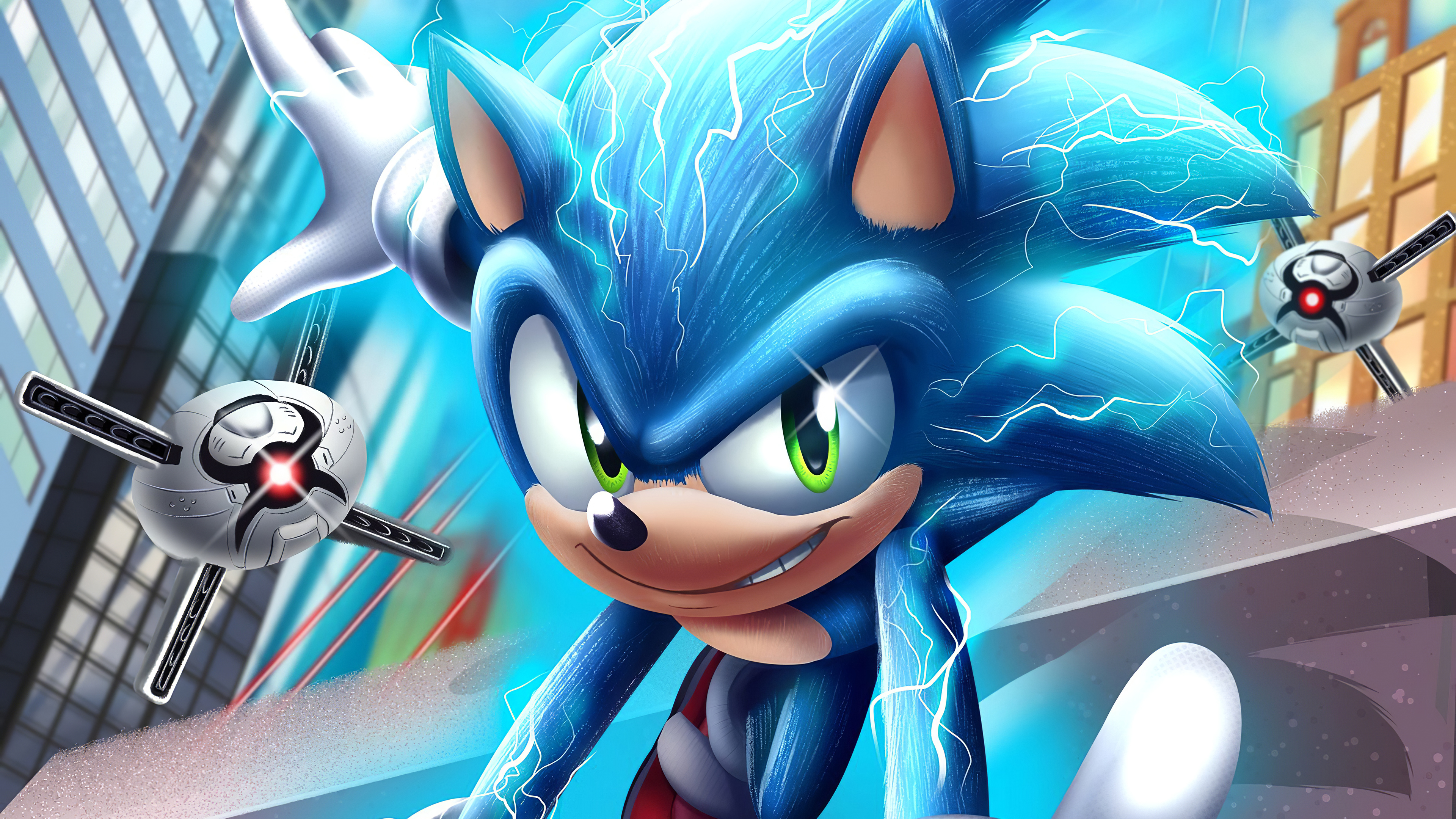 Sonic The Hedgehog 4k 2020 Hd Movies 4k Wallpapers Images Backgrounds Photos And Pictures