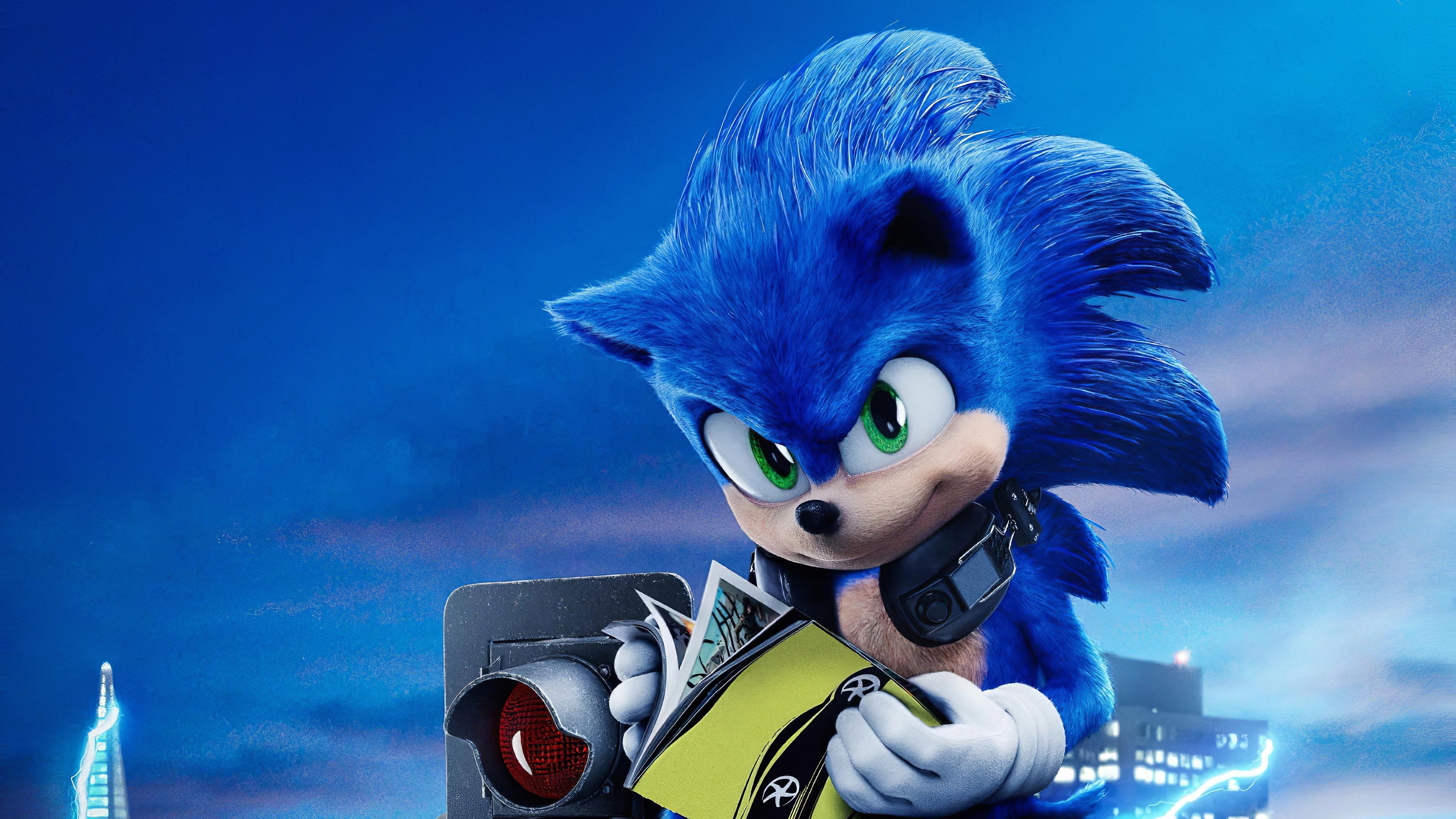 sonic the hedgehog movie wallpaper 2020