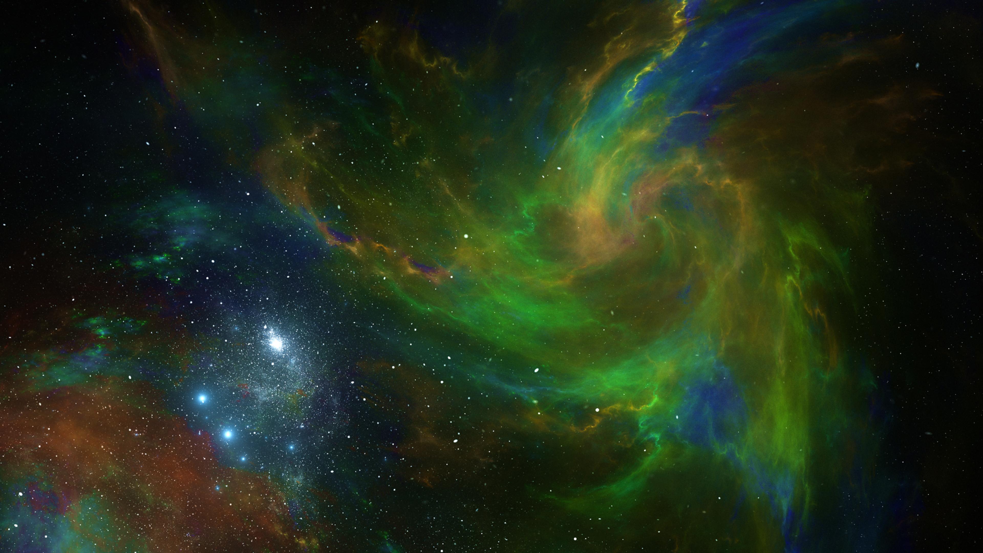 Space Nebula Currents 4k, HD Digital Universe, 4k ...