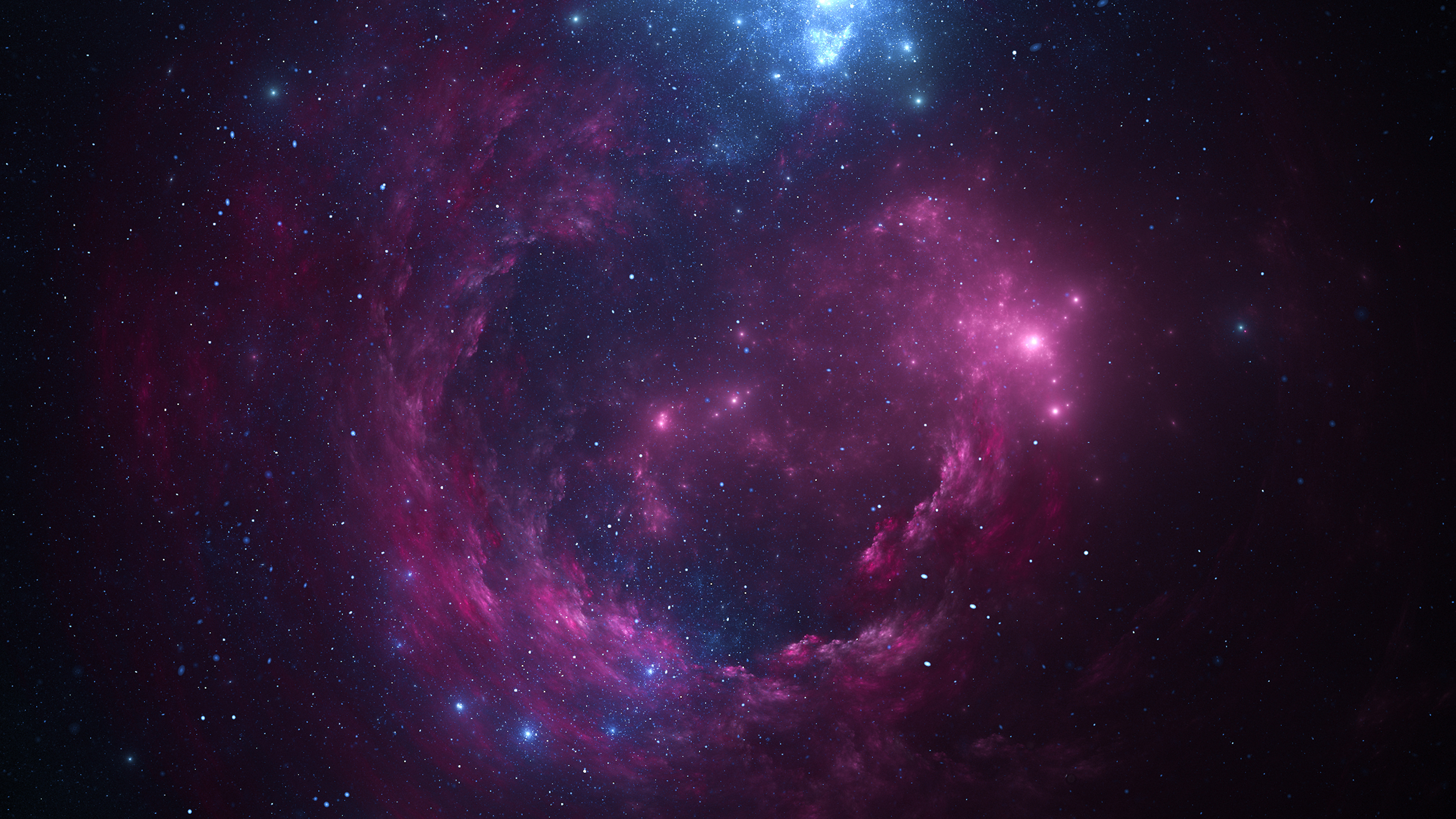 1360x768 Space Pink Stars 4k Laptop Hd Hd 4k Wallpapers Images Backgrounds Photos And Pictures