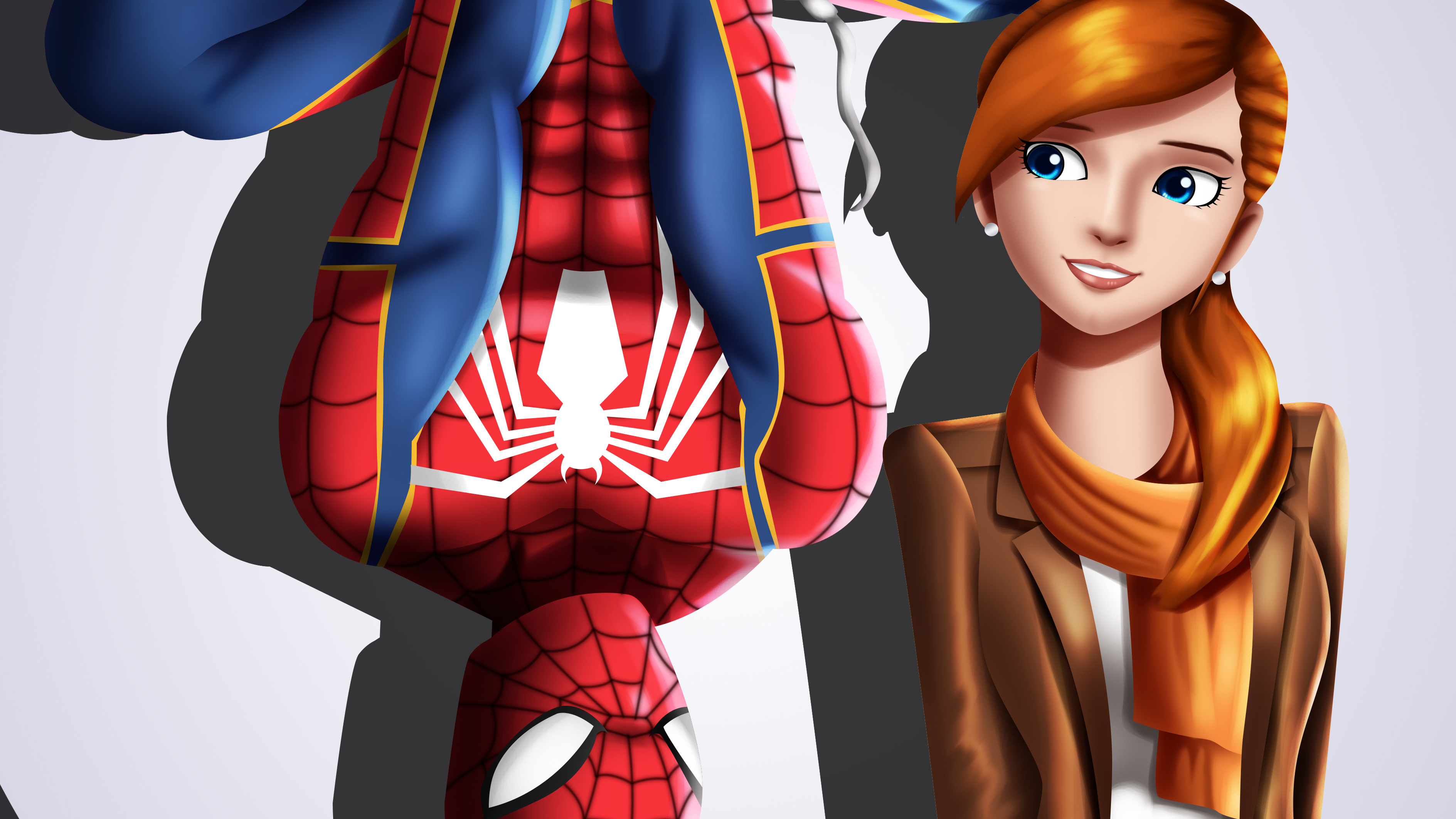 Spider Man And Mary Jane Watson Hd Superheroes 4k Wallpapers