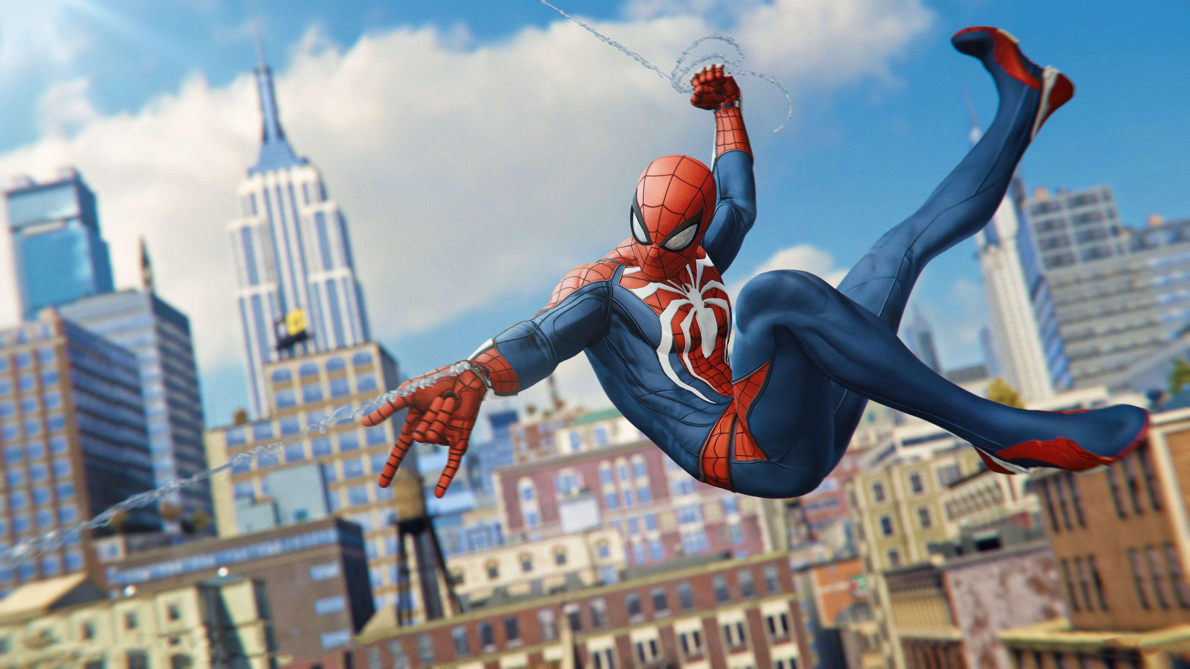 Spiderman 2018 Ps4 Game 4k Hd Games 4k Wallpapers Images Backgrounds Photos And Pictures