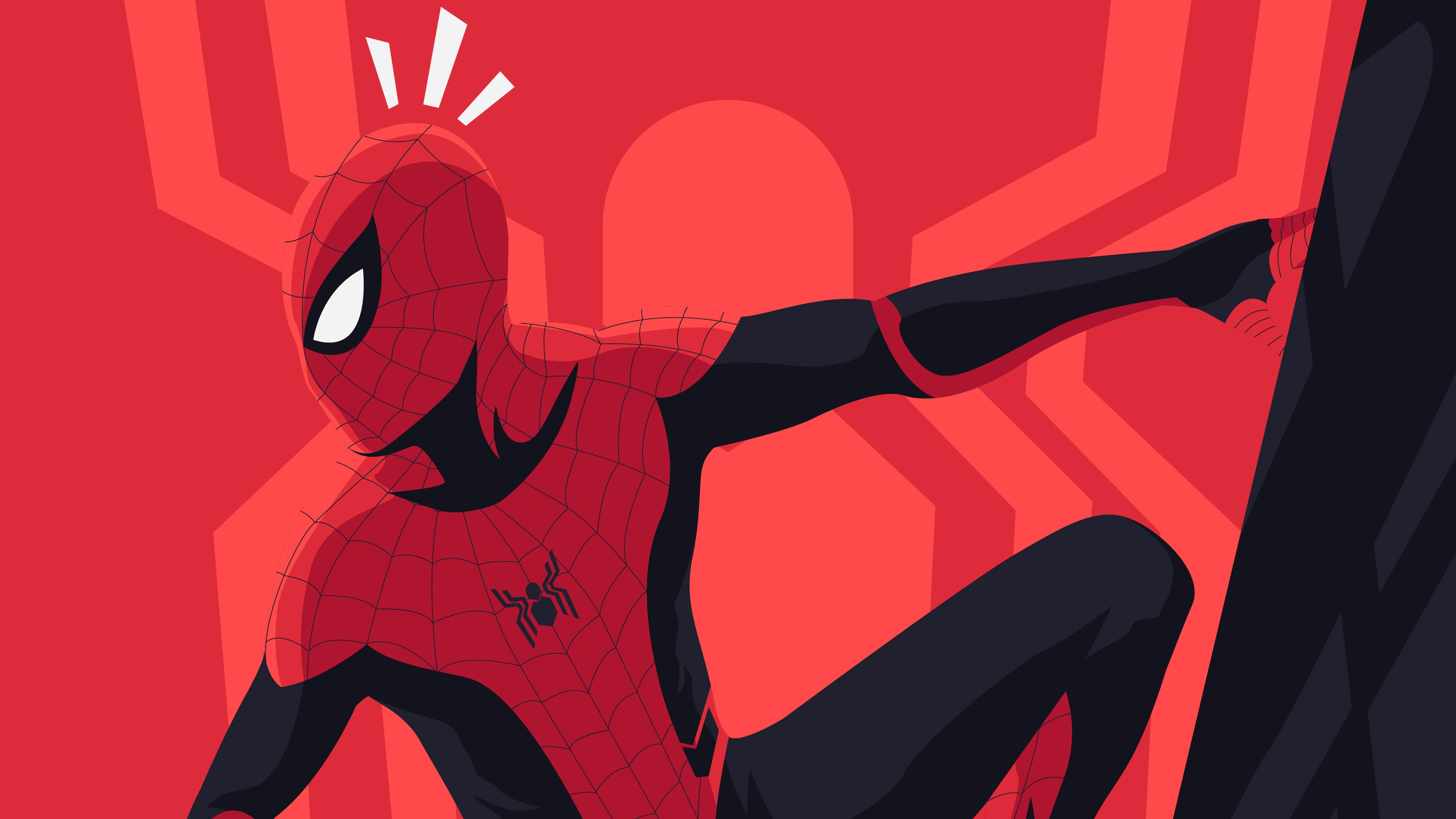 2048x2048 Spiderman Far From Home Movie Art Ipad Air Hd 4k