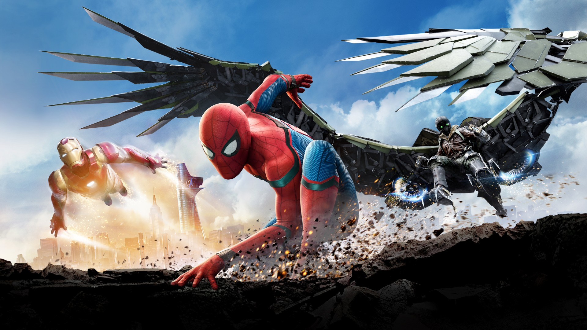 1920x1080 Spiderman Homecoming Hd New Laptop Full Hd 1080p