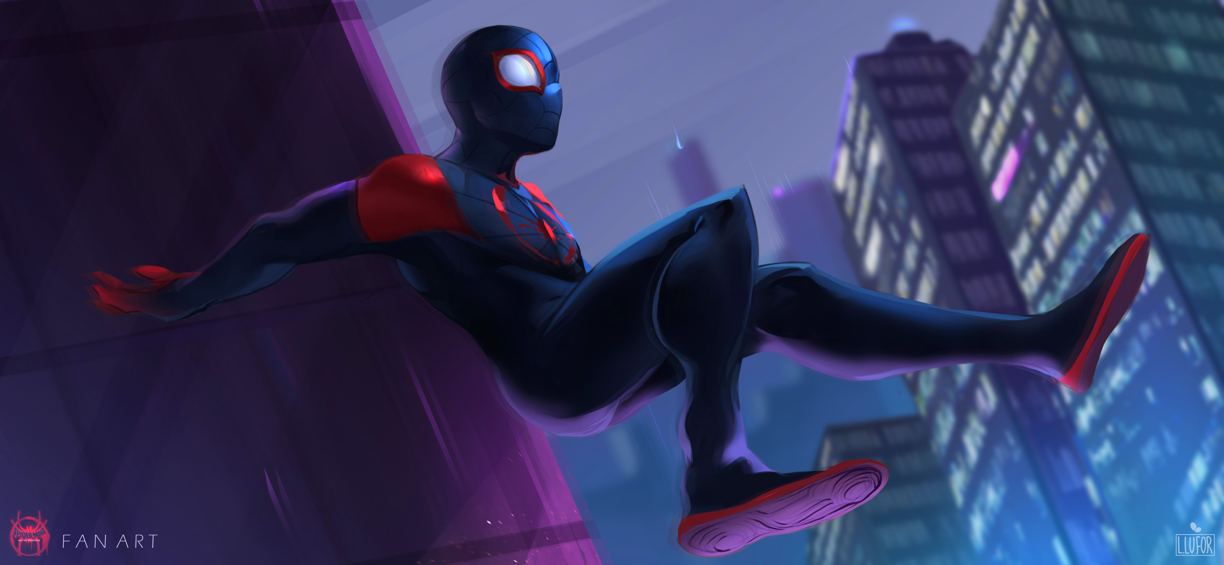 Spiderman Into The Spider Verse 2018 Fan Art Hd Movies 4k Wallpapers Images Backgrounds Photos And Pictures