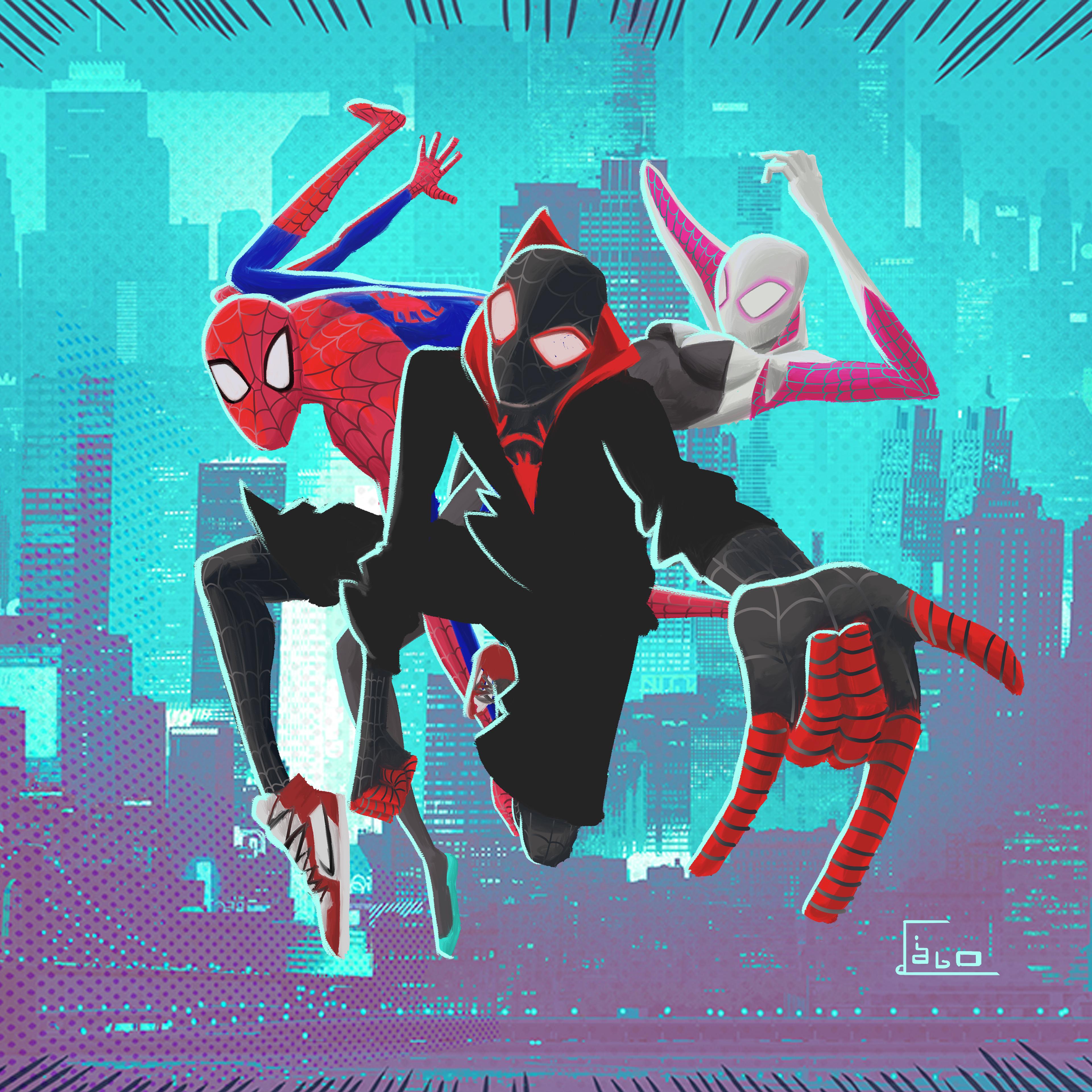 1440x900 Spiderman Into The Spider Verse 4k New Artwork 1440x900