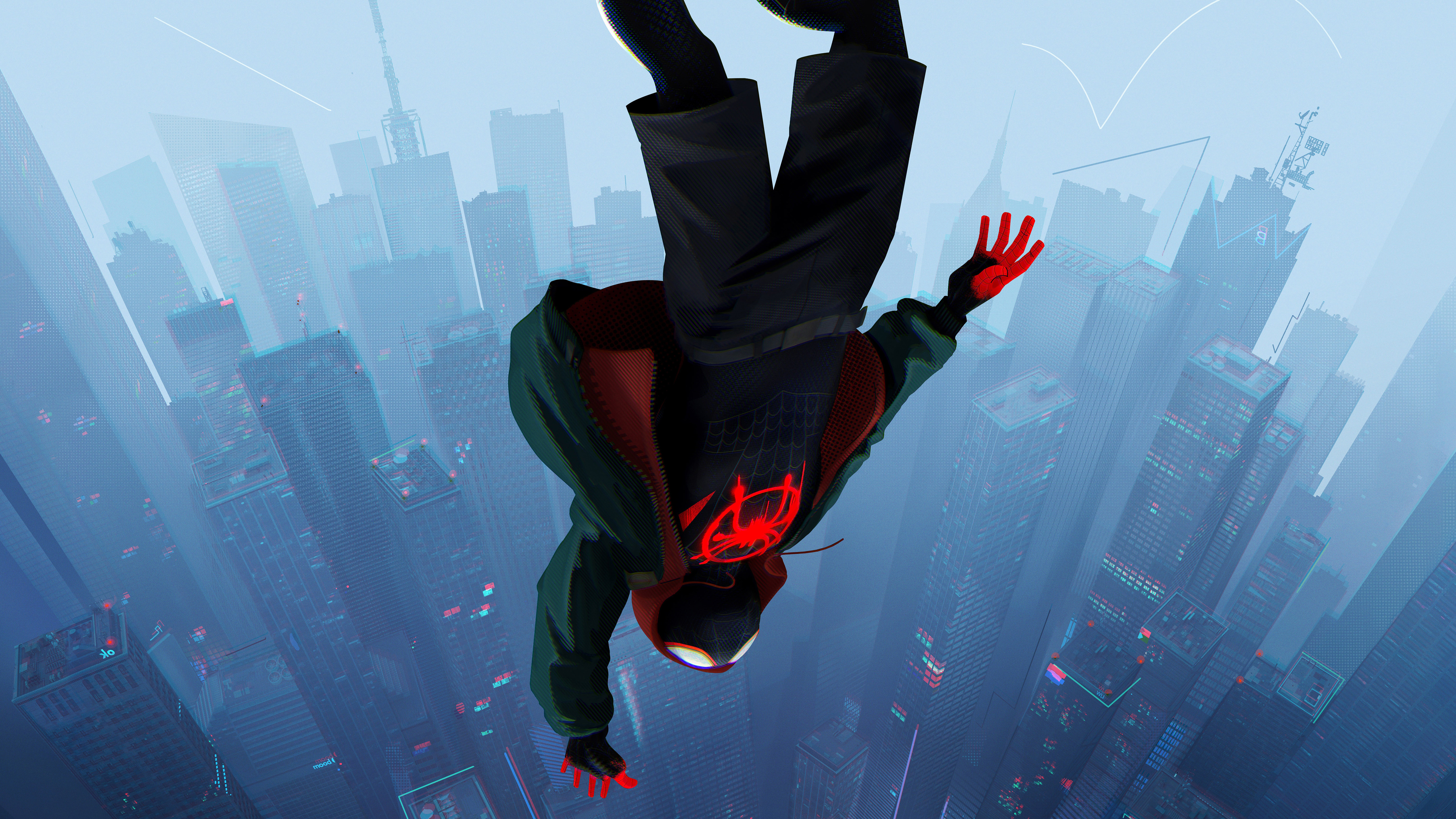 Spiderman Into The Spider Verse Movie 2018 8k Hd Movies 4k