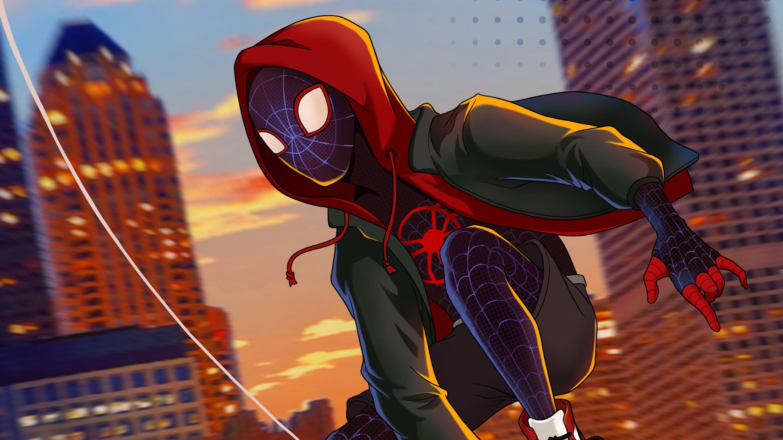 1366x768 Spiderman Miles Morales Spider ...
