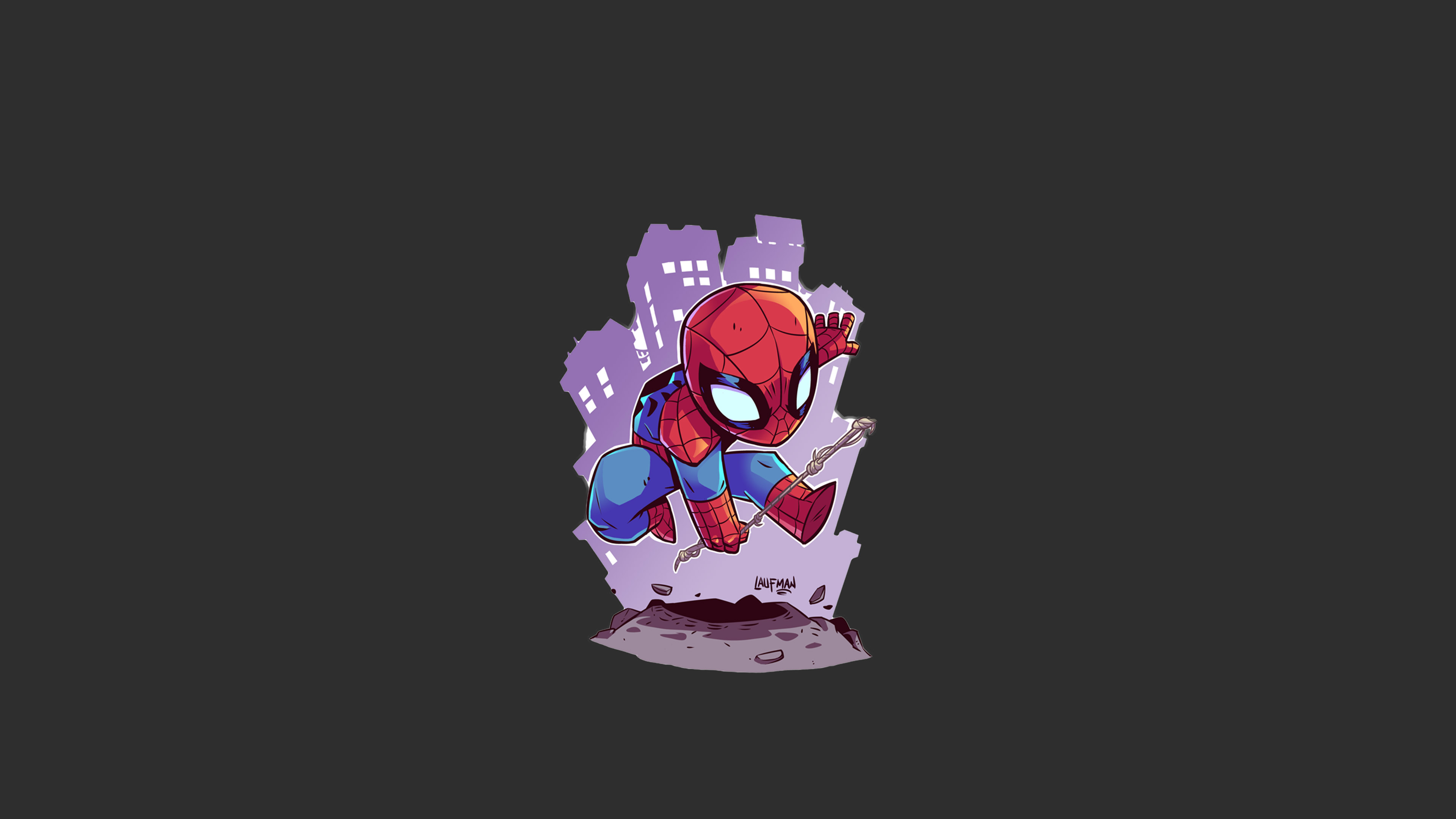 1125x2436 Spiderman Minimalism Iphone ...