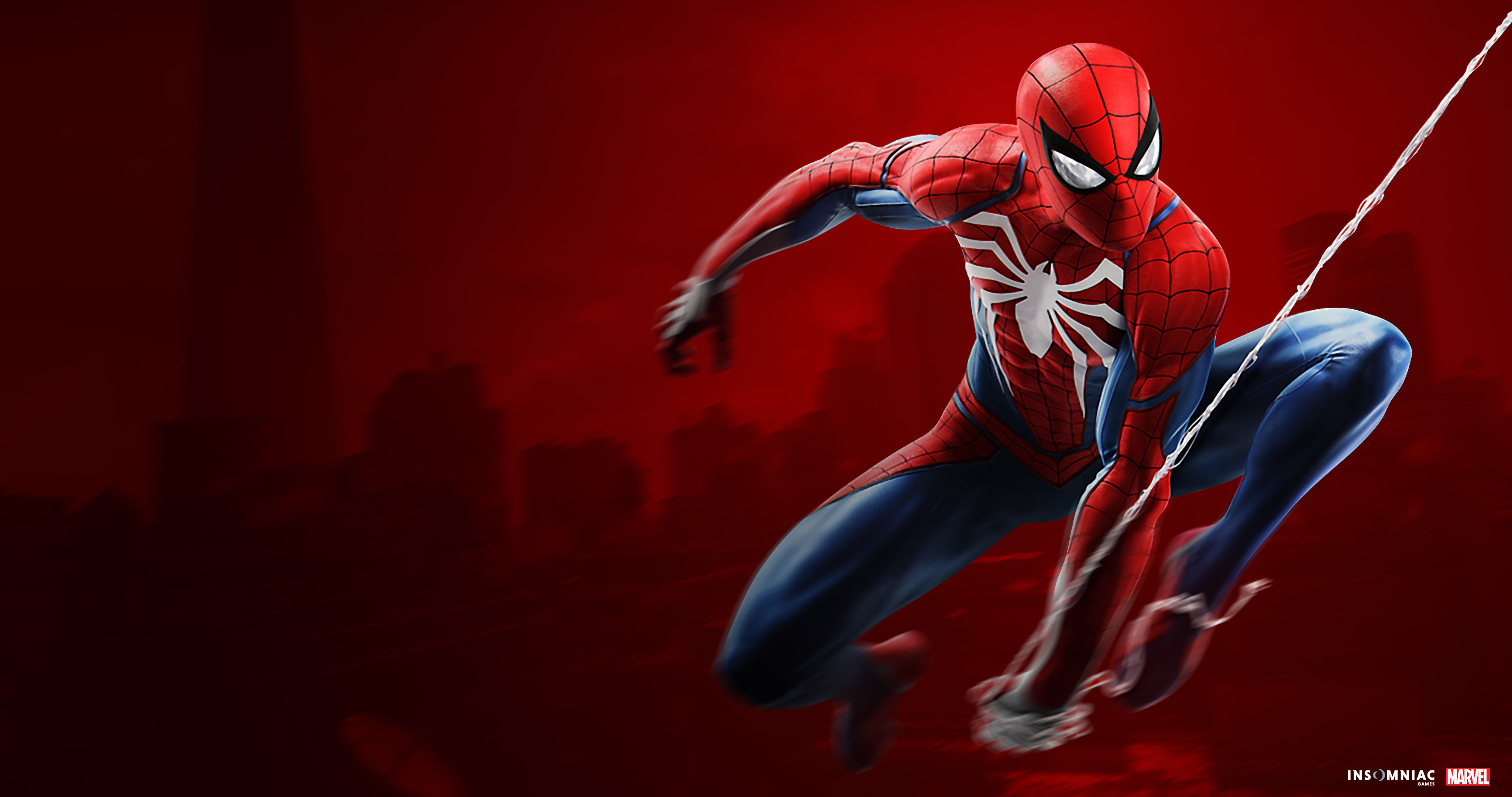 2048x1152 Spiderman Ps4 4k 2048x1152 Resolution Hd 4k Wallpapers Images Backgrounds Photos And Pictures