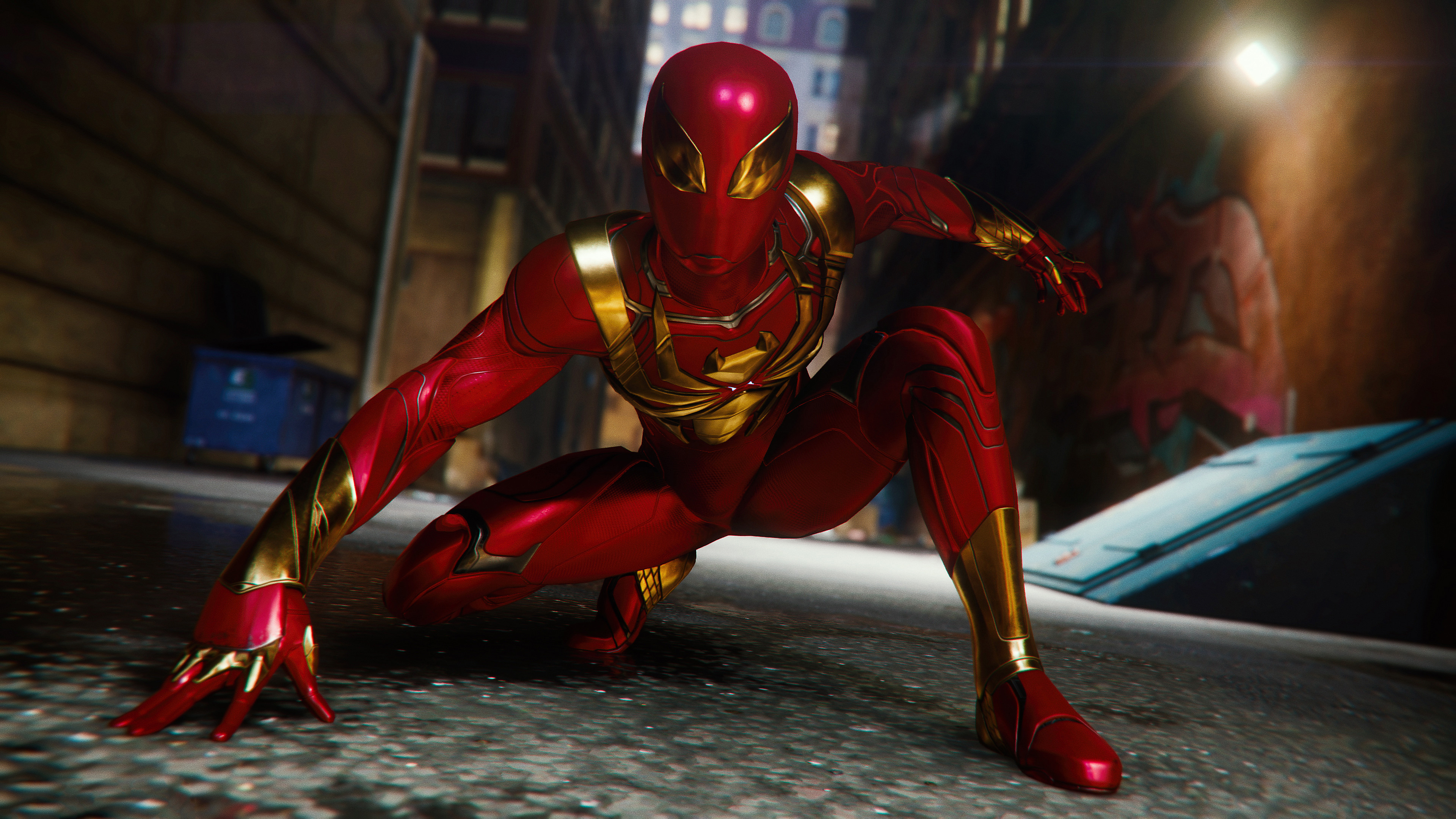 Spiderman Ps4 Red Suit Hd Games 4k Wallpapers Images