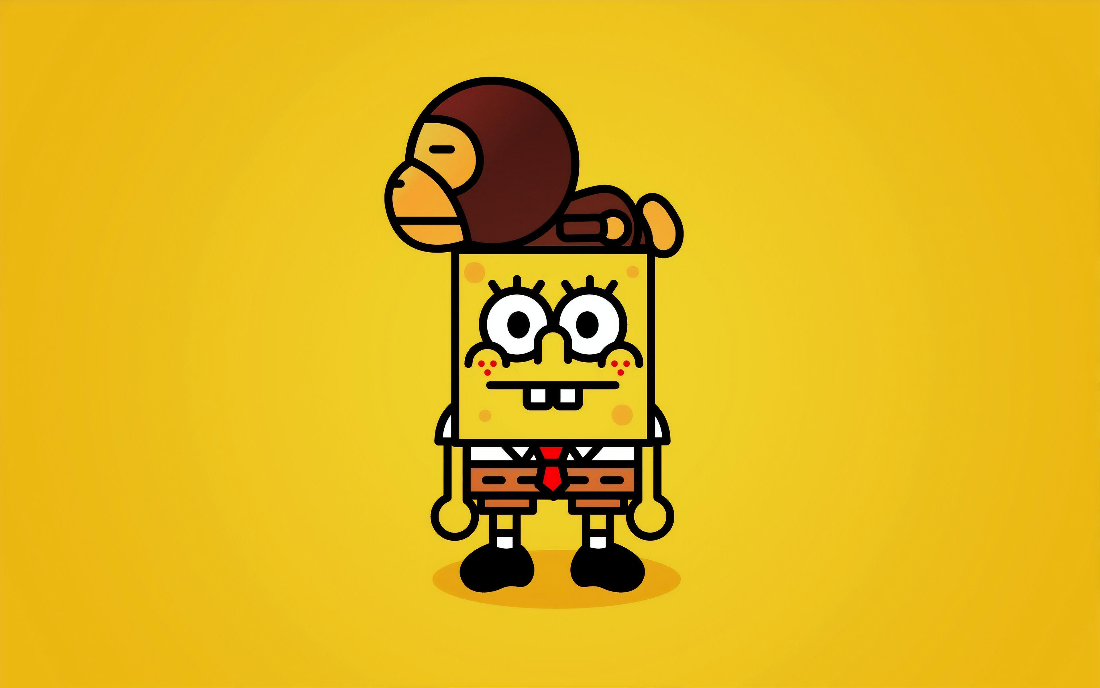 spongebob squarepants 4k 4c