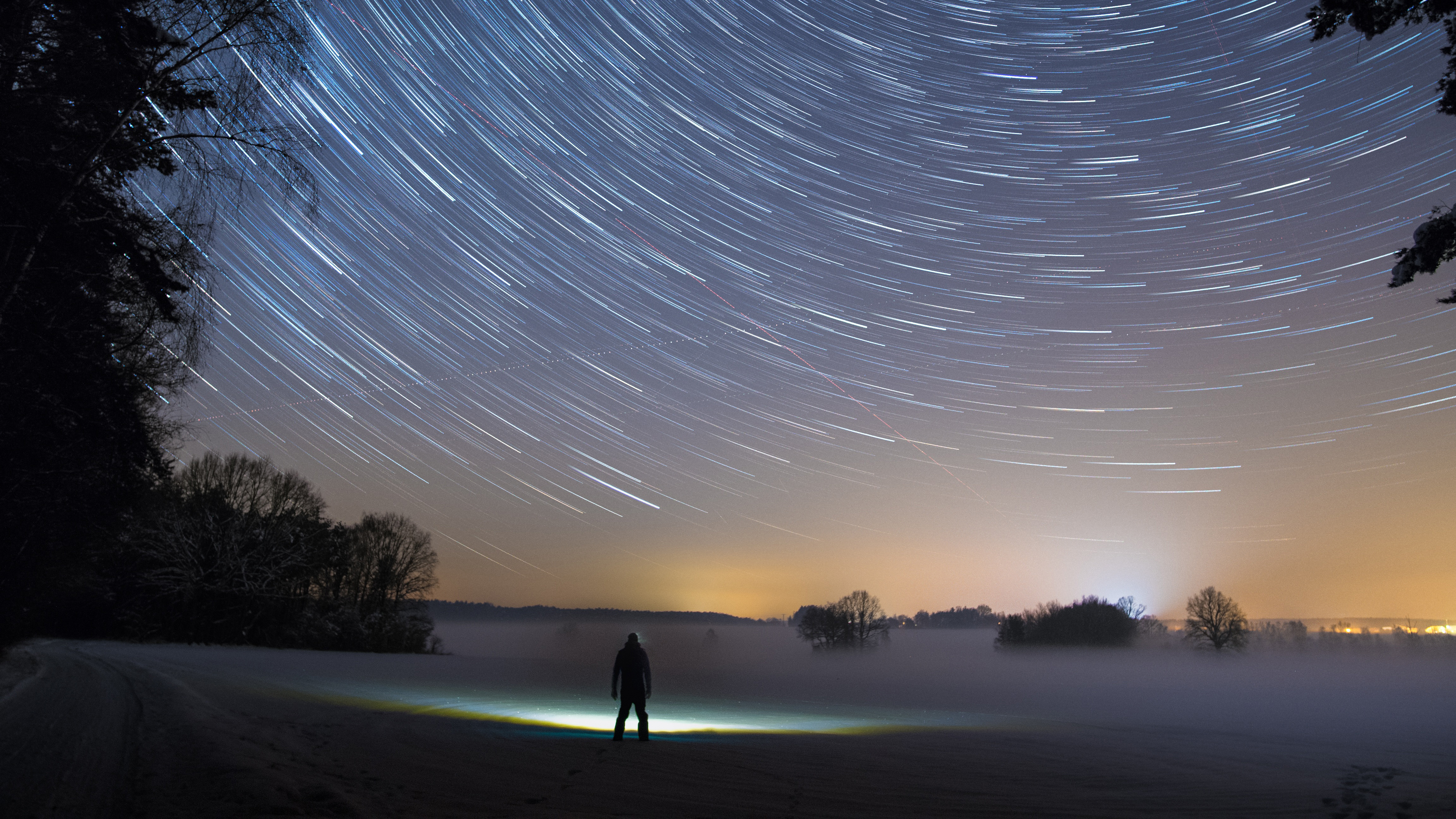Star Trails Sky 5k Hd Photography 4k Wallpapers Images