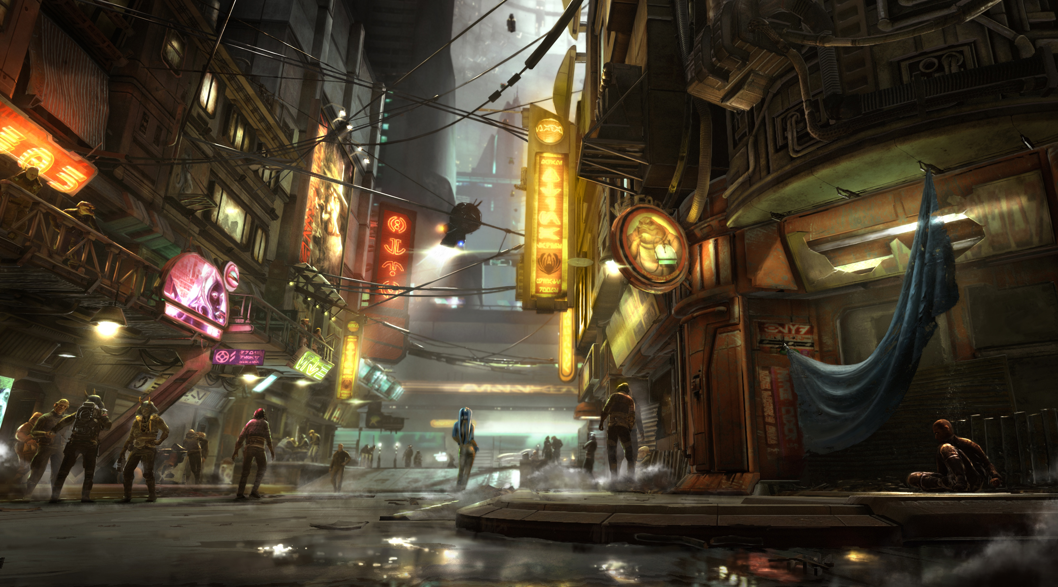 Star Wars 1313 Concept Art 4k Hd Artist 4k Wallpapers Images Backgrounds Photos And Pictures