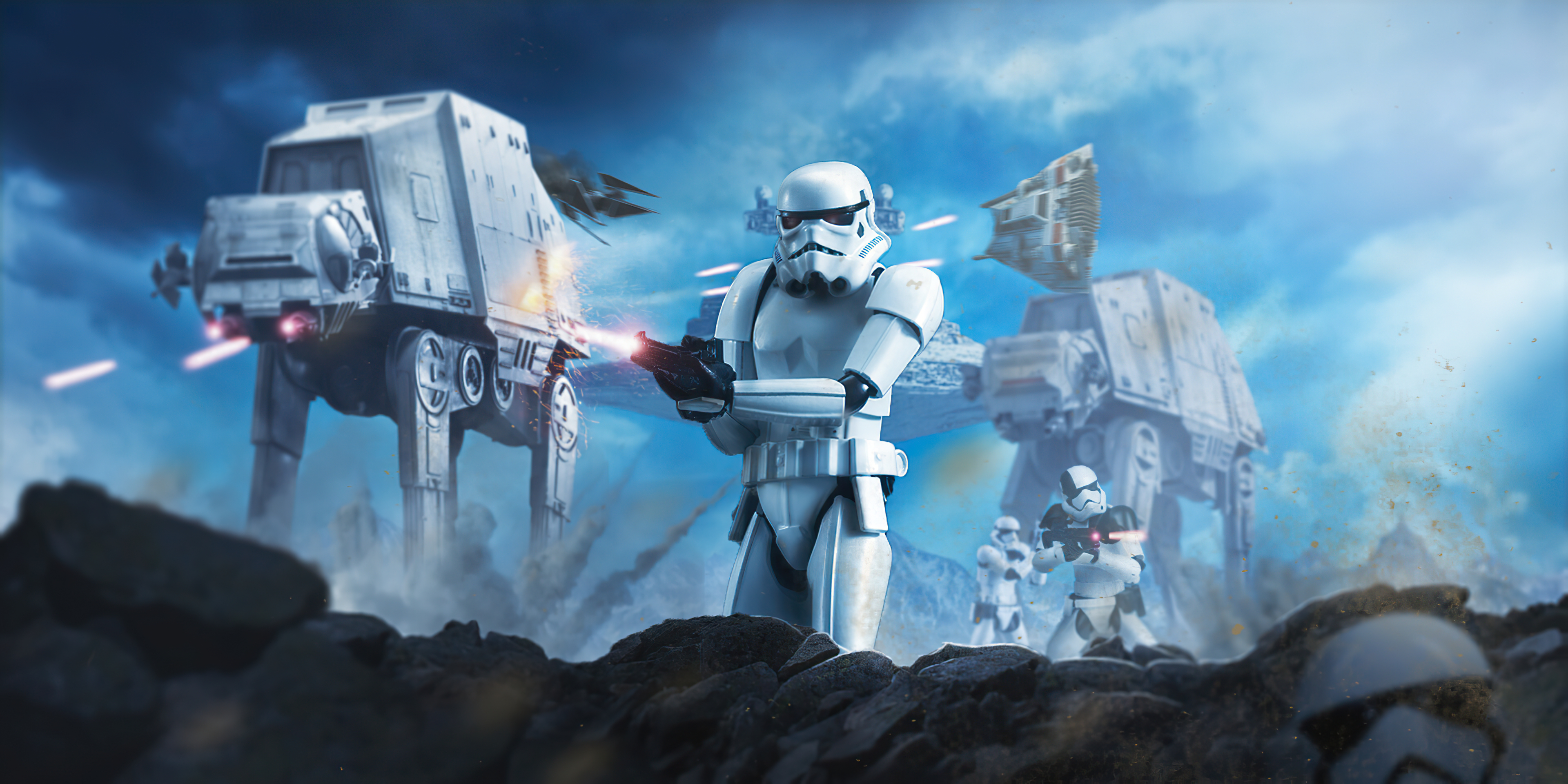 1400x900 Star Wars Battle Of Hoth 1400x900 Resolution Hd 4k Wallpapers Images Backgrounds Photos And Pictures