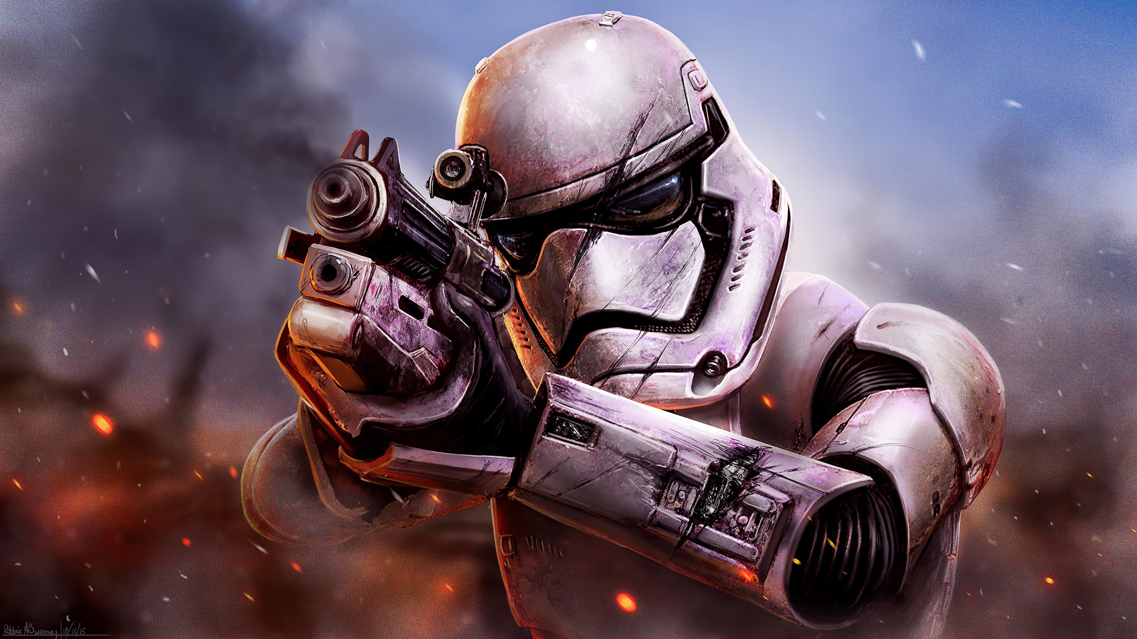 Star Wars Battlefront Stormtrooper, HD