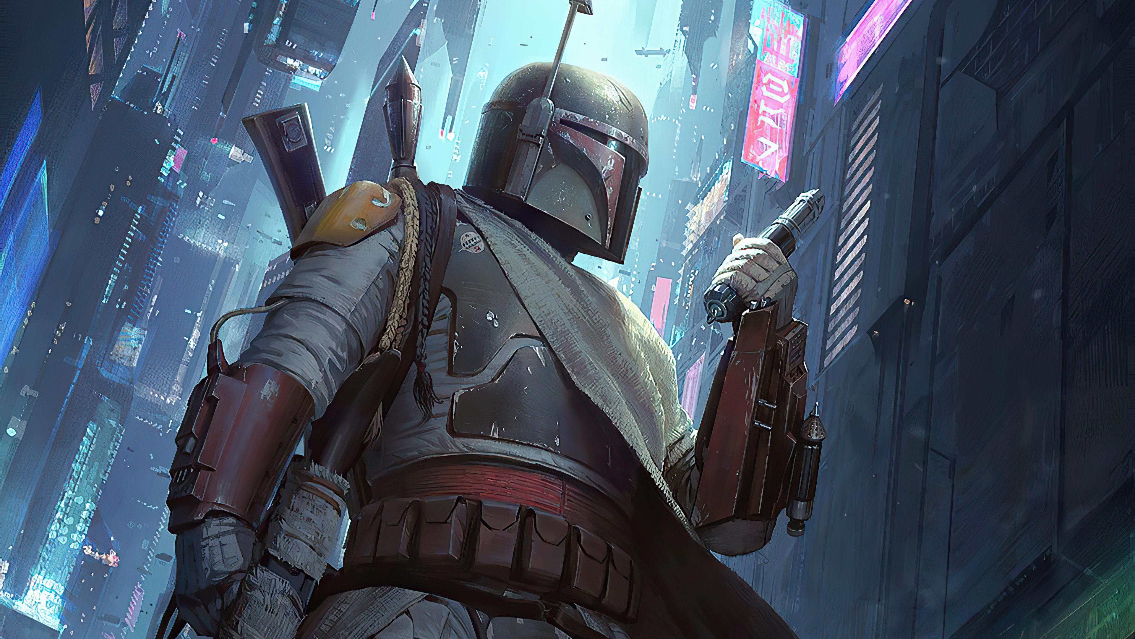 Star Wars Boba Fett, HD Superheroes, 4k Wallpapers, Images ...