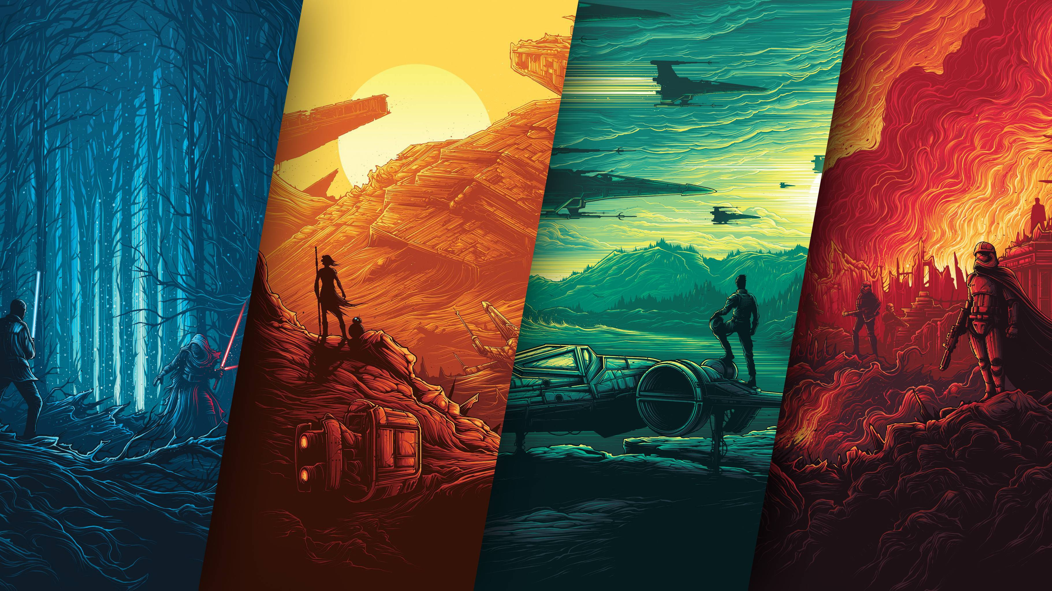 Star Wars Poster 4k, HD Movies, 4k Wallpapers, Images ...