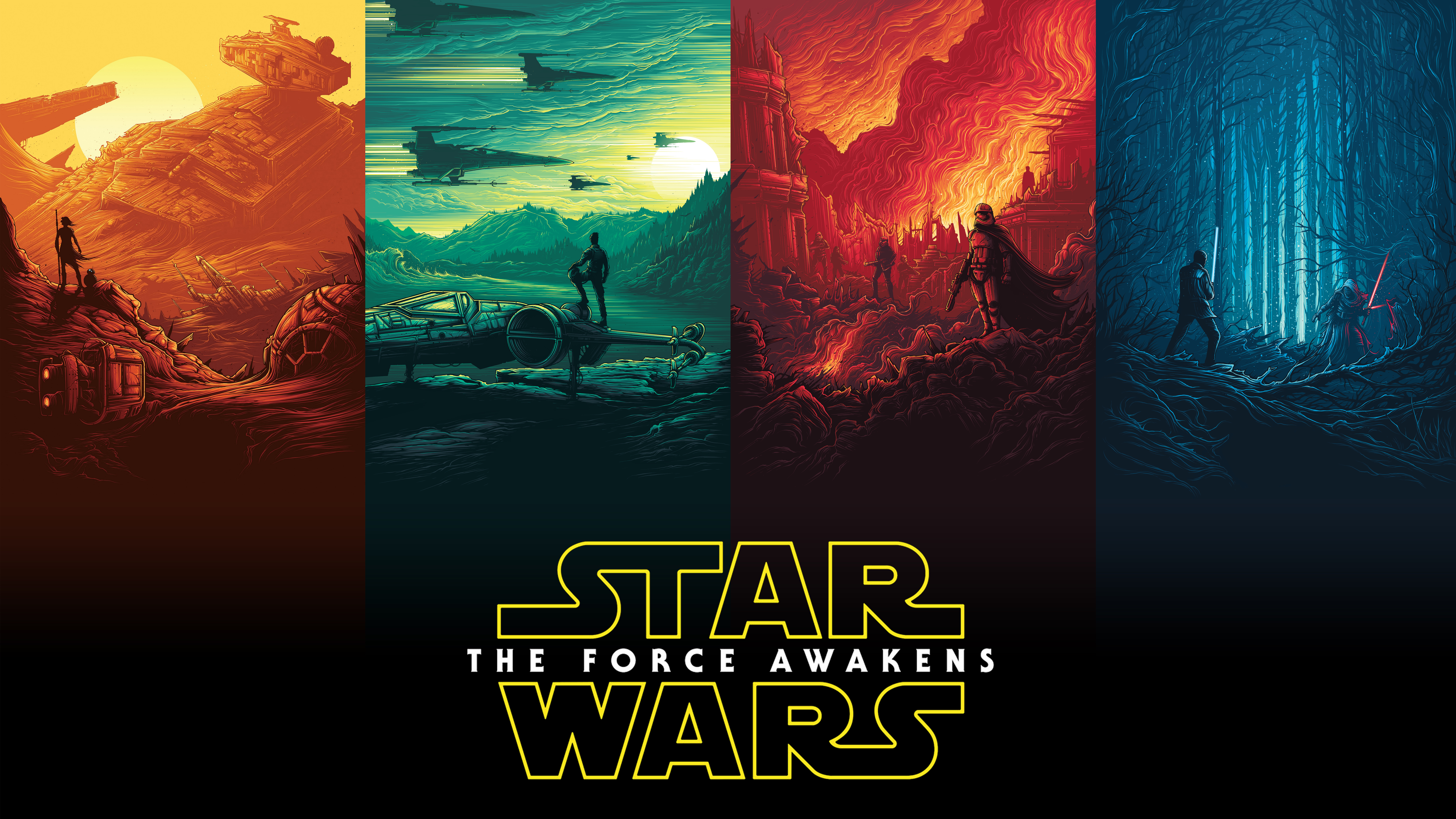 1440x900 Star Wars Poster Logo 1440x900 Resolution Hd 4k Wallpapers Images Backgrounds Photos And Pictures