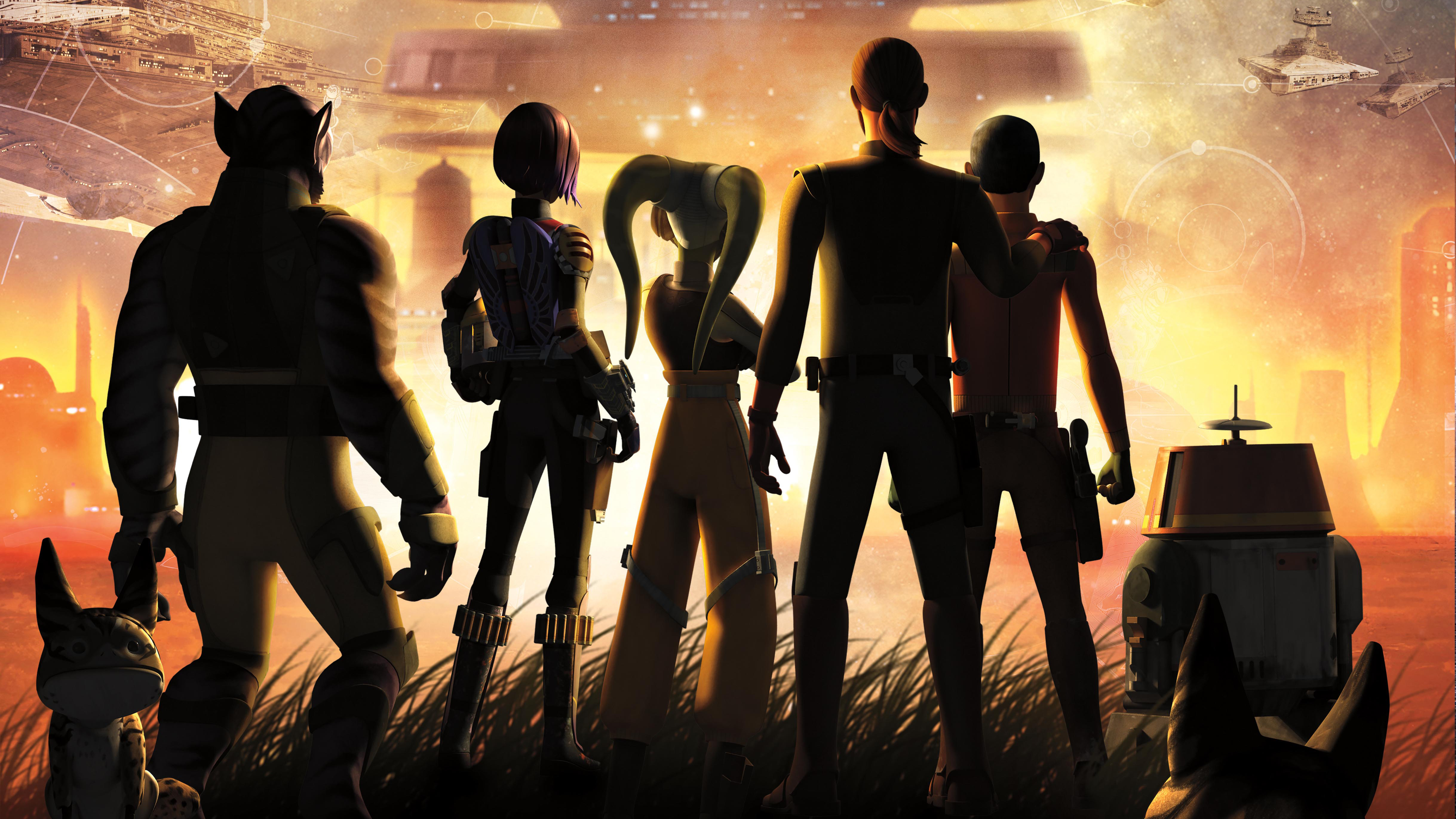 Star Wars Rebels Key Art Hd Tv Shows 4k Wallpapers Images Backgrounds Photos And Pictures