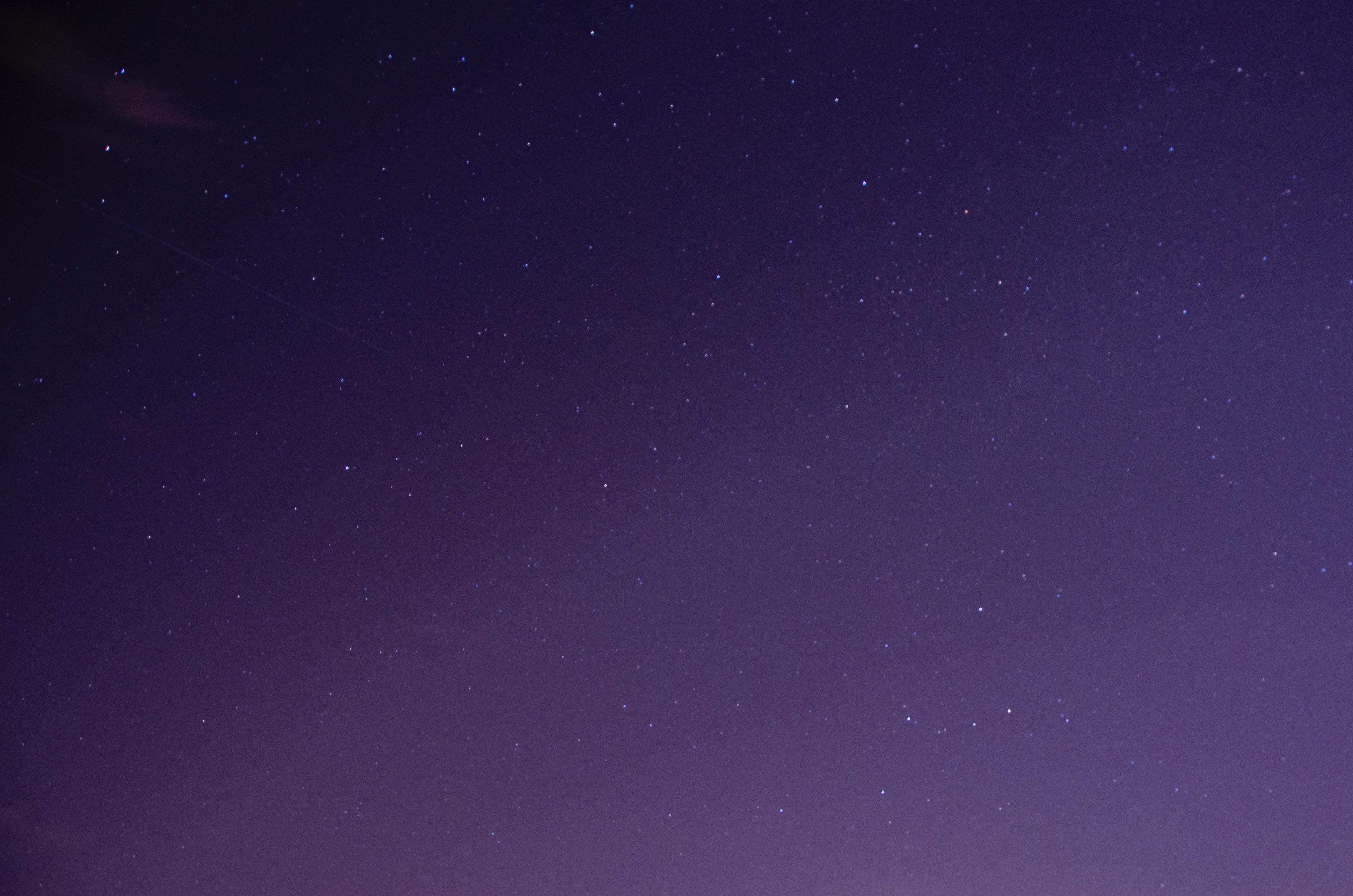 starry purple sky 4k gd