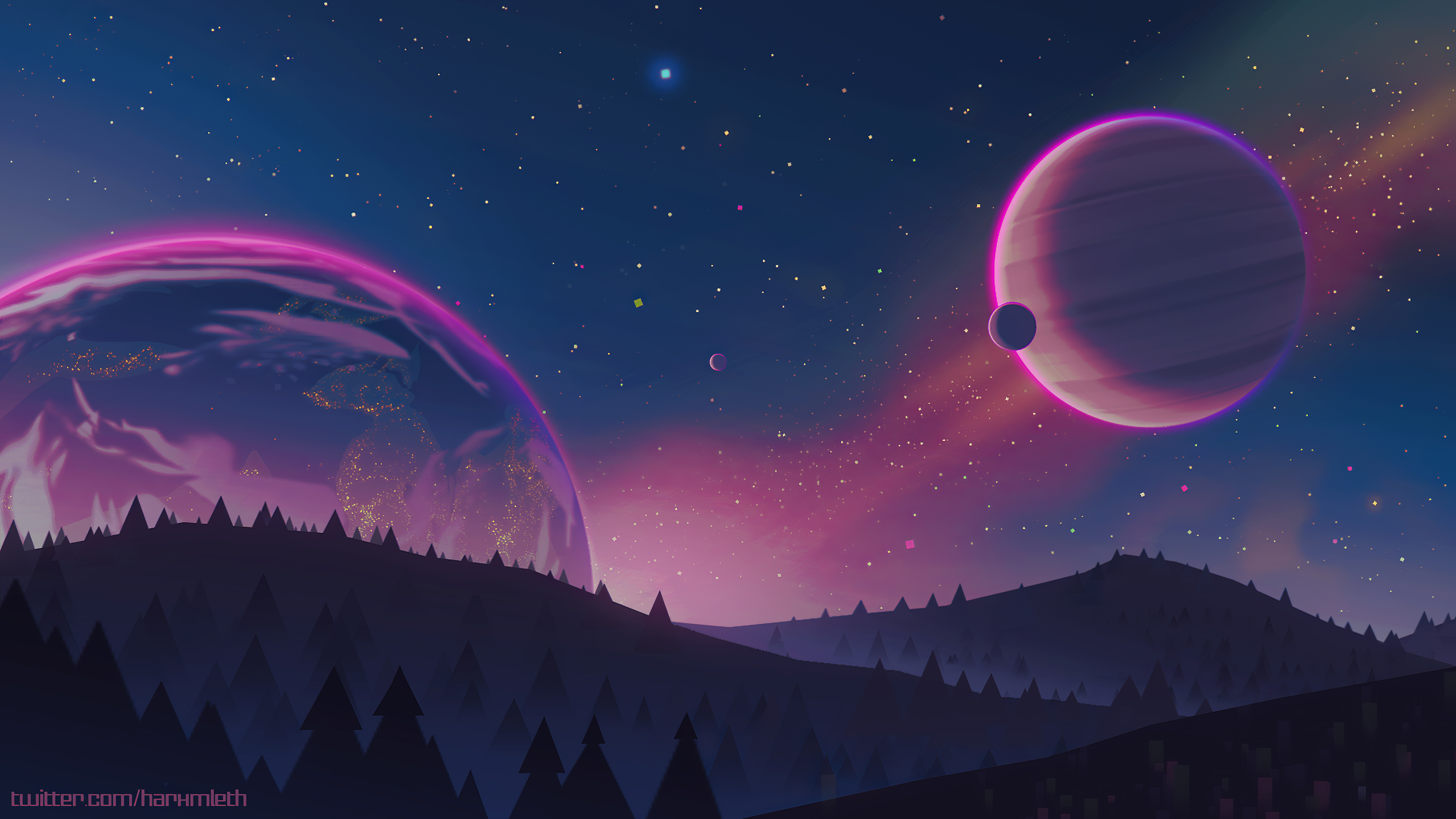Stars Planets 4k Hd Artist 4k Wallpapers Images Backgrounds Photos And Pictures