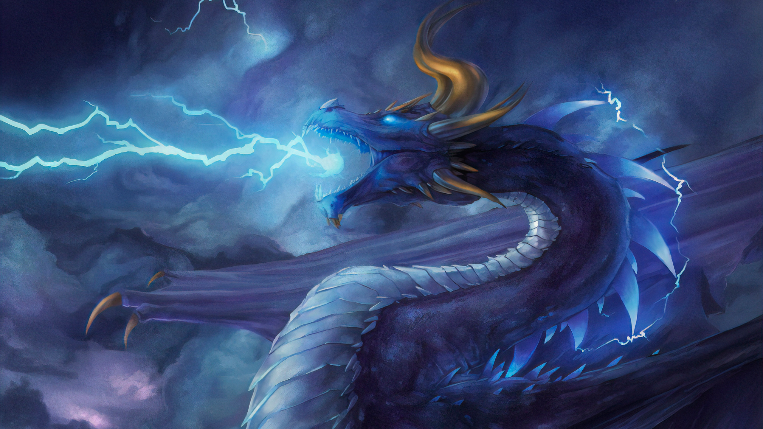 Storm Dragon, HD Artist, 4k Wallpapers, Images ...