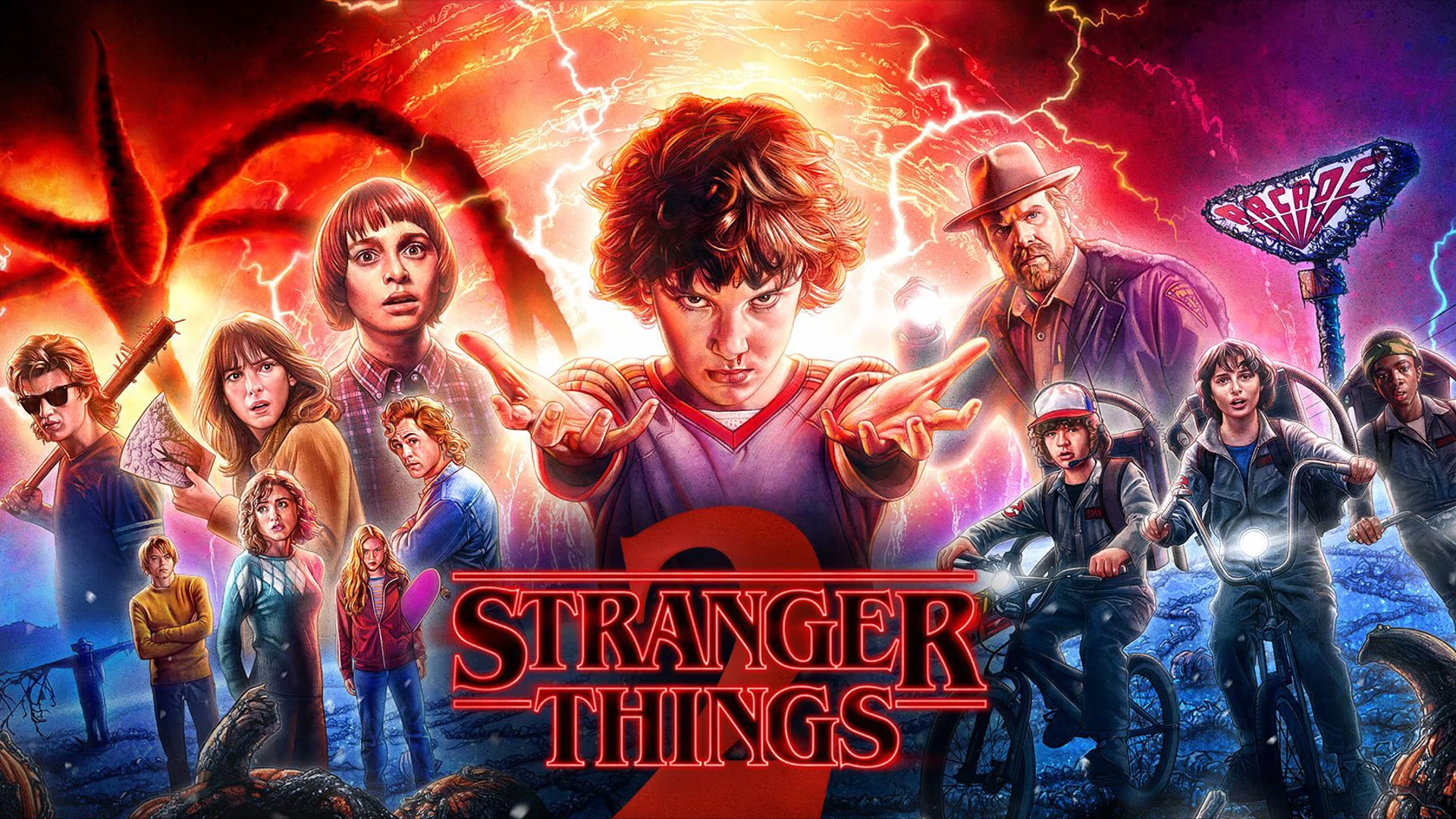 Stranger Things Season 2 2017 Latest Hd Tv Shows 4k Wallpapers