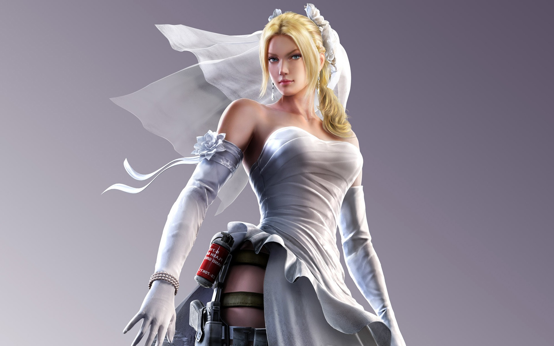 Street Fighter X Tekken Nina Williams Hd Fantasy Girls 4k