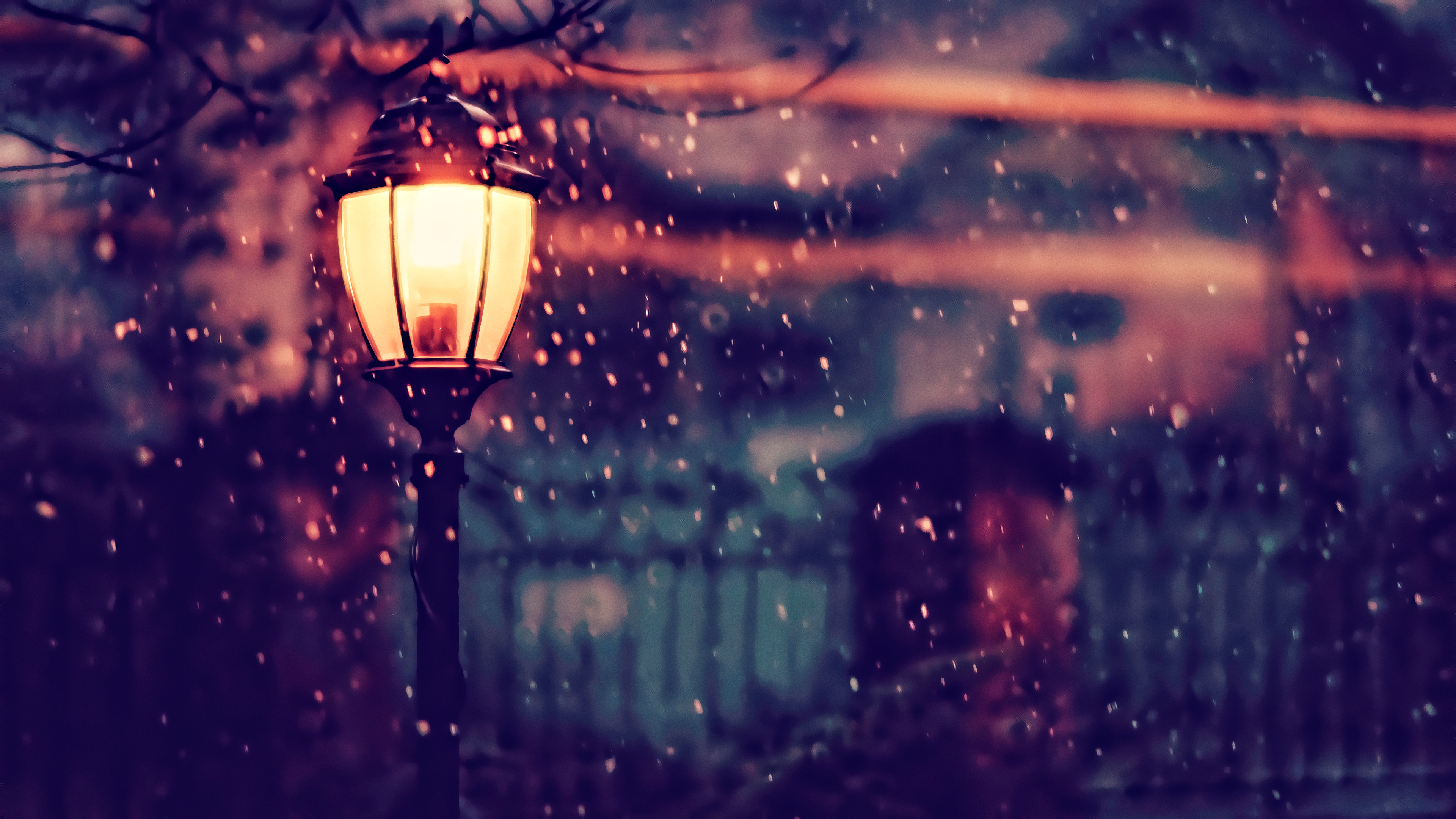 1440x900 Street Light Winter 4k 1440x900 Resolution Hd 4k Wallpapers Images Backgrounds Photos And Pictures