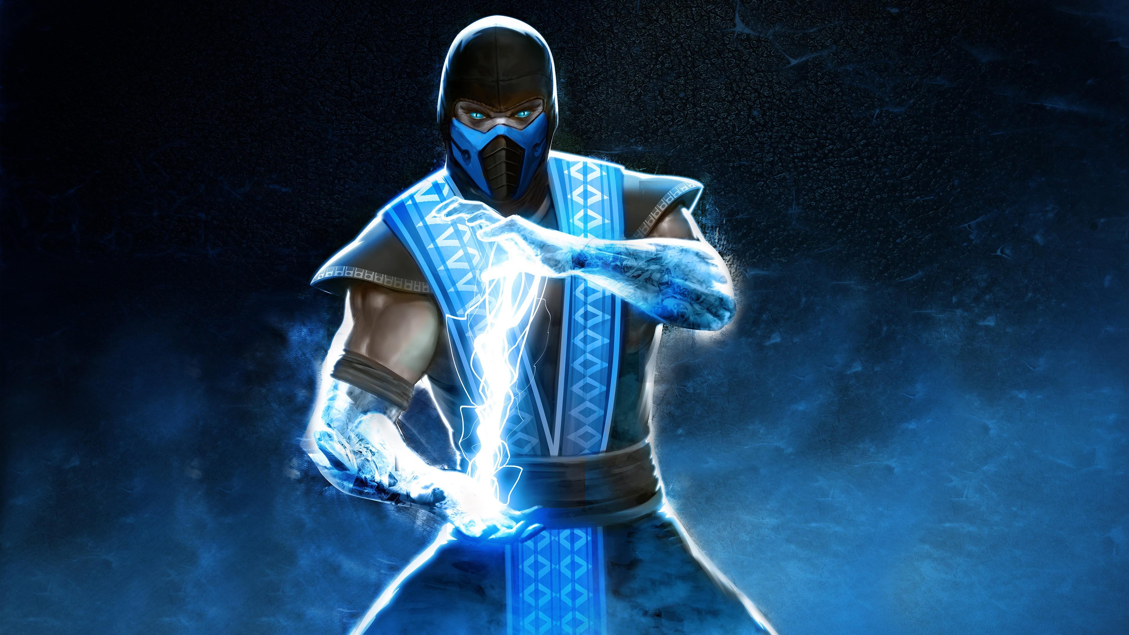 Sub Zero In Mortal Kombat 4k Hd Games 4k Wallpapers Images