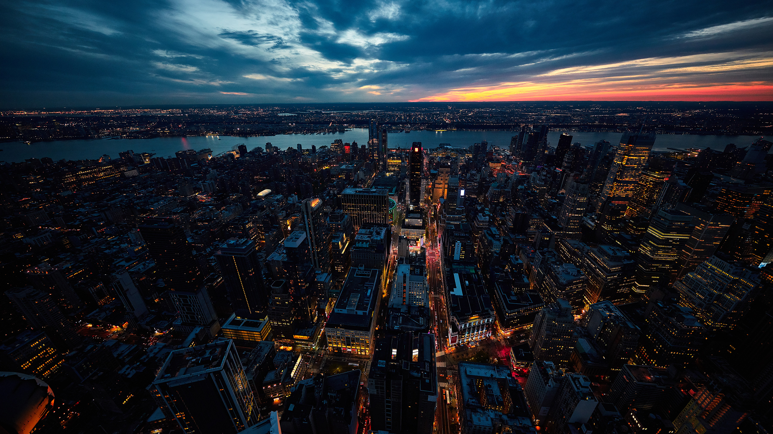 1366x768 Sunset New York City 1366x768 Resolution Hd 4k Wallpapers Images Backgrounds Photos And Pictures