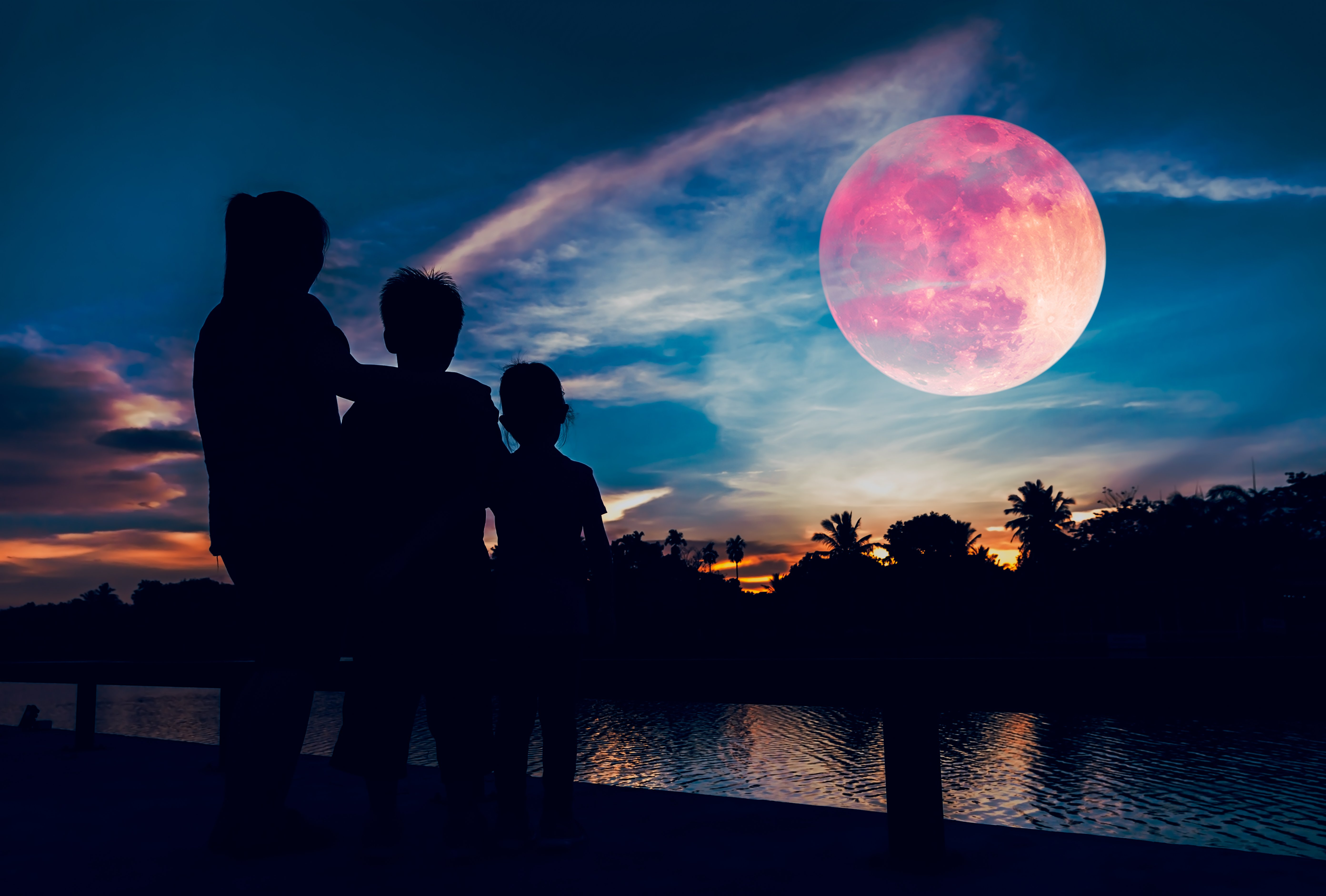 1336x768 Super Blood Wolf Moon 5k Laptop Hd Hd 4k Wallpapers Images Backgrounds Photos And Pictures