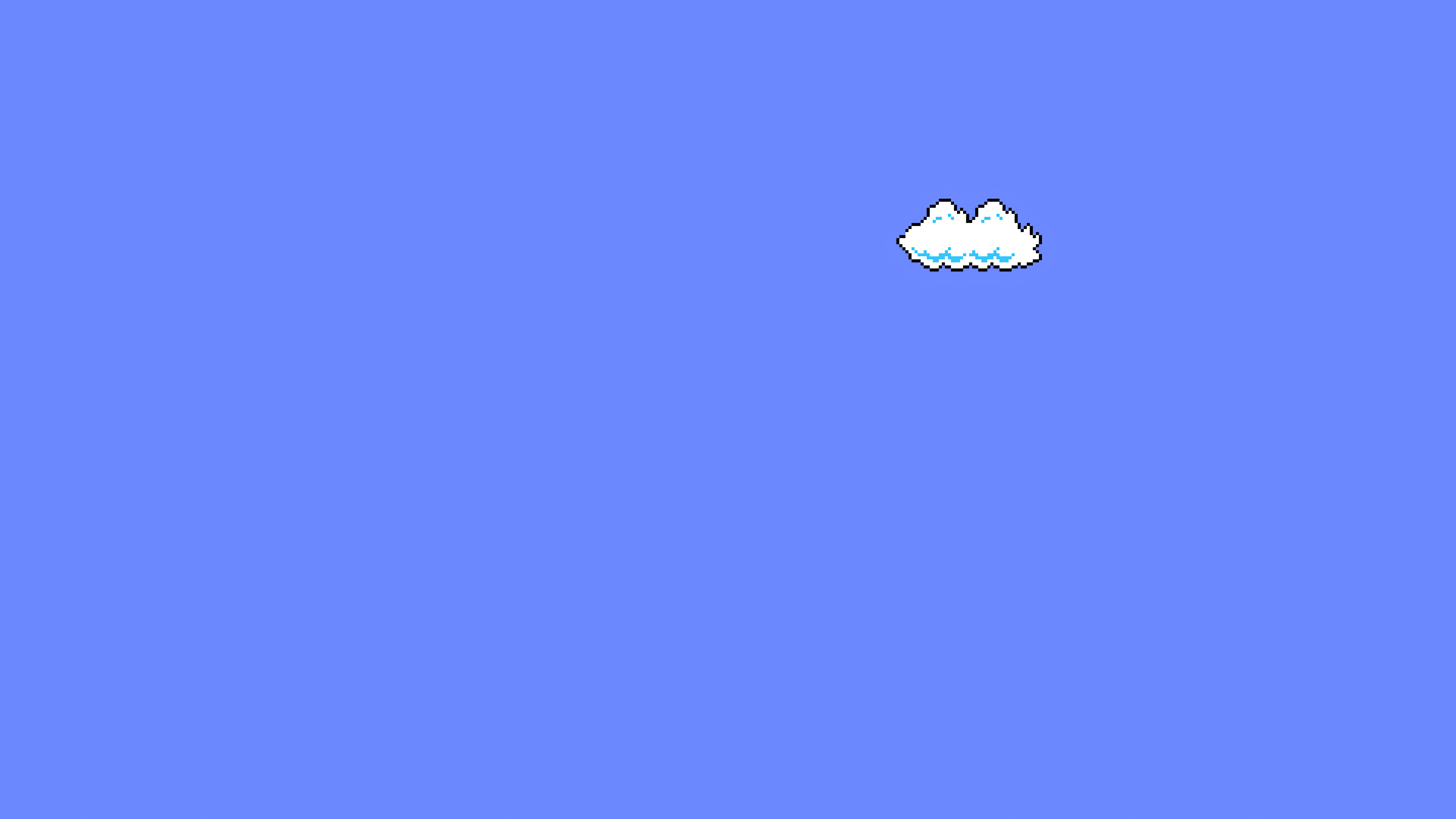 Super Mario Clouds Minimal Art 4k Hd Games 4k Wallpapers Images