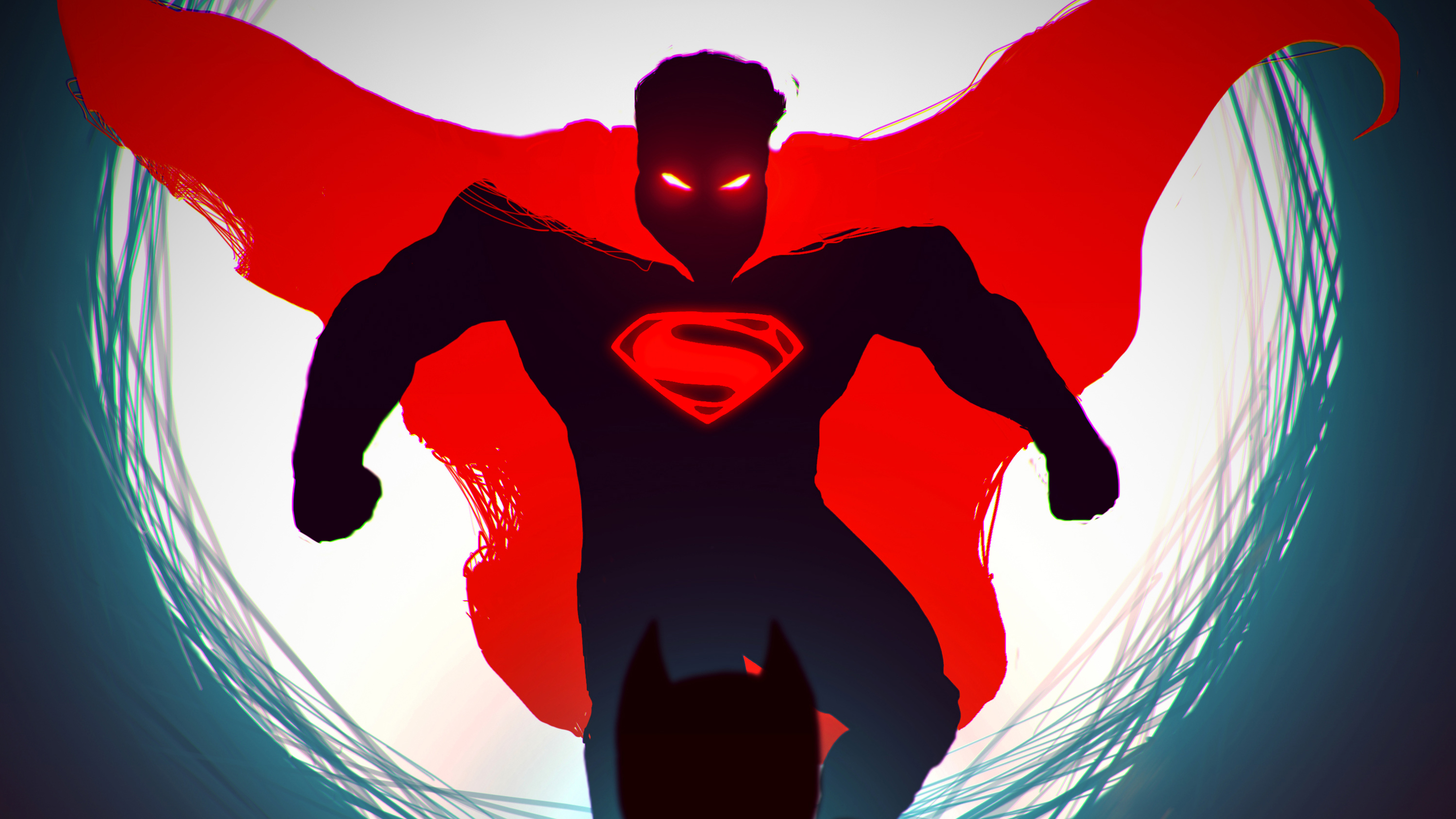 Superman Red Dark Hd Superheroes 4k Wallpapers Images Backgrounds Photos And Pictures