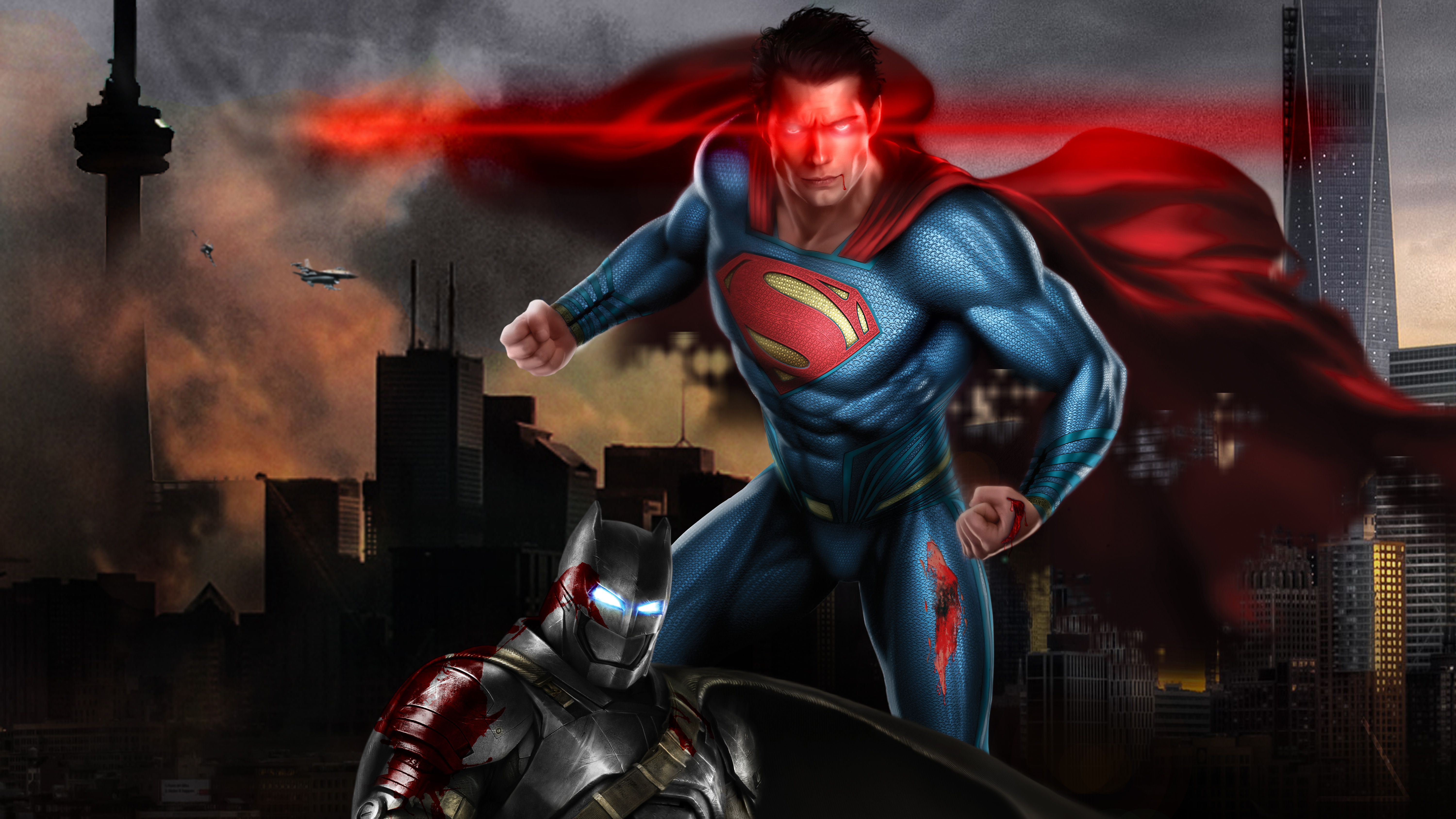 Superman Vs Batman 5k Art, HD Superheroes, 4k Wallpapers ...