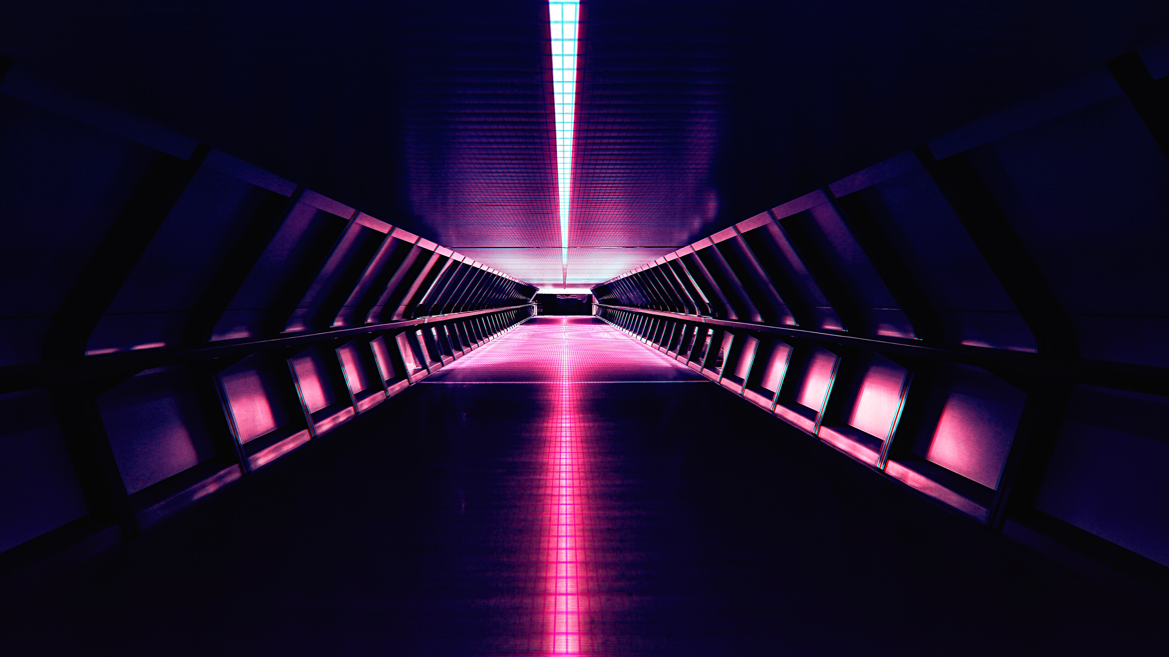 2560x1440 Synthwave Aesthetic Corridor 4k 1440p Resolution Hd 4k Wallpapers Images Backgrounds Photos And Pictures